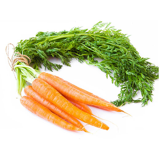 Carrots, Bunched-Organic