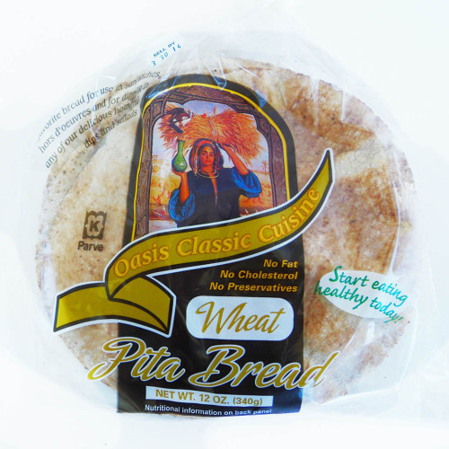 Pita Bread, Wheat