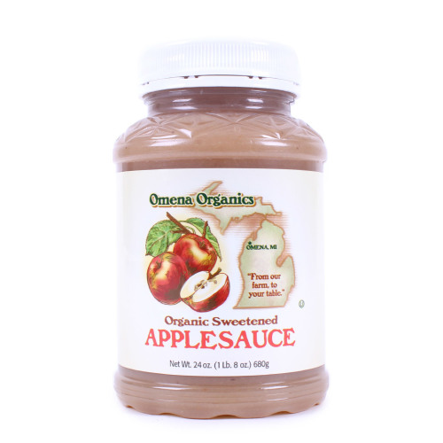 Sweetened Applesauce-Organic