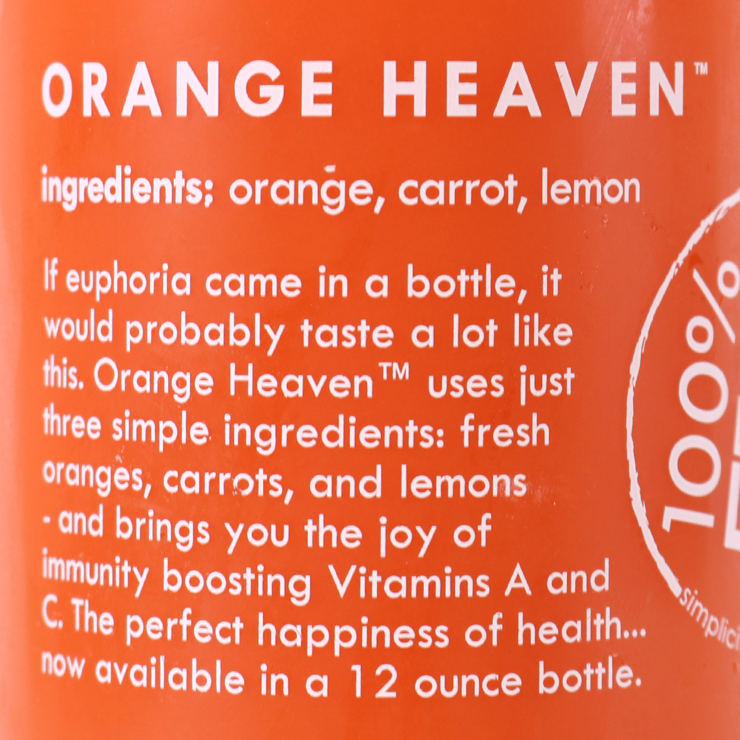 Juice, Orange Heaven