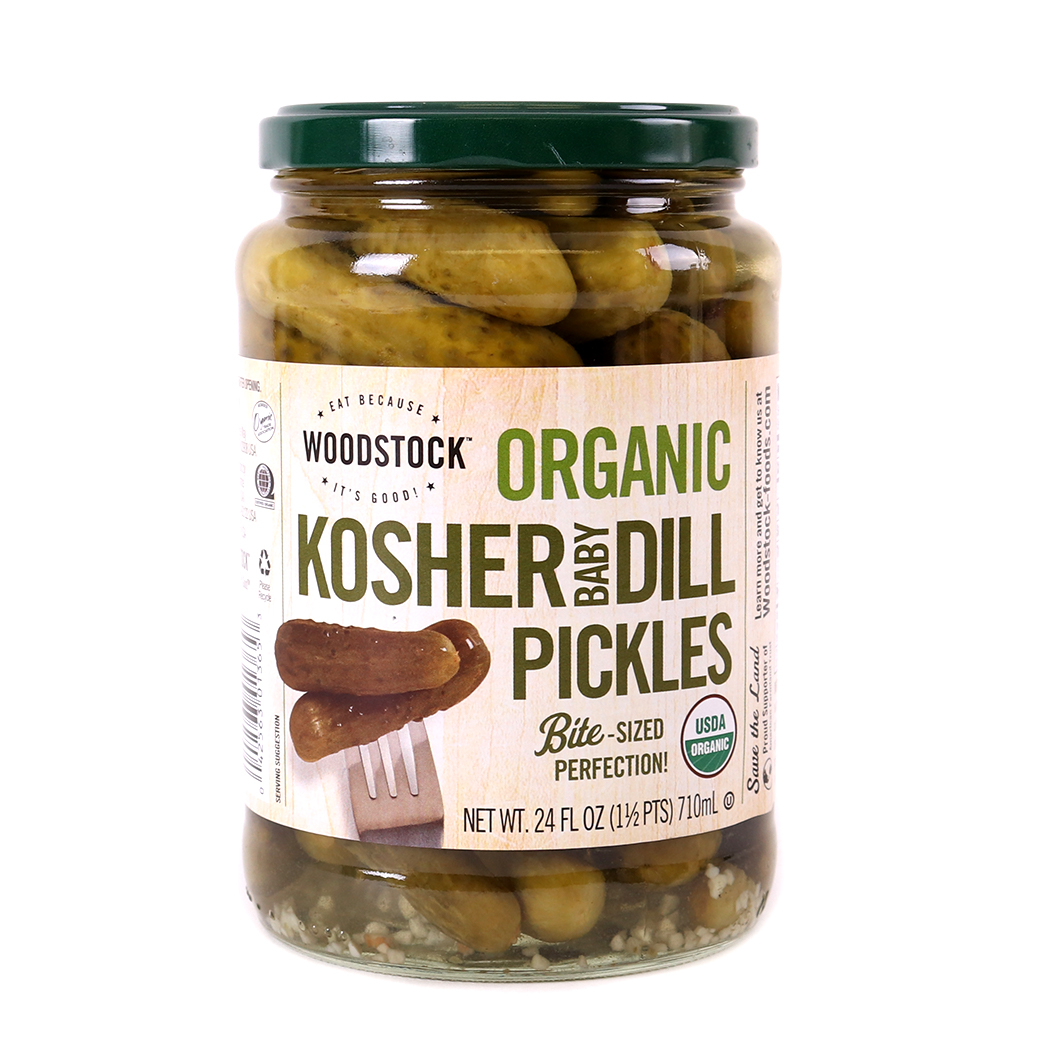 Pickles, Kosher Baby Dill-Organic