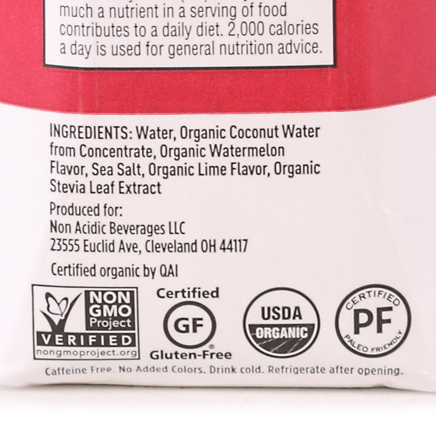 Electrolyte Drink, Watermelon Lime-Organic