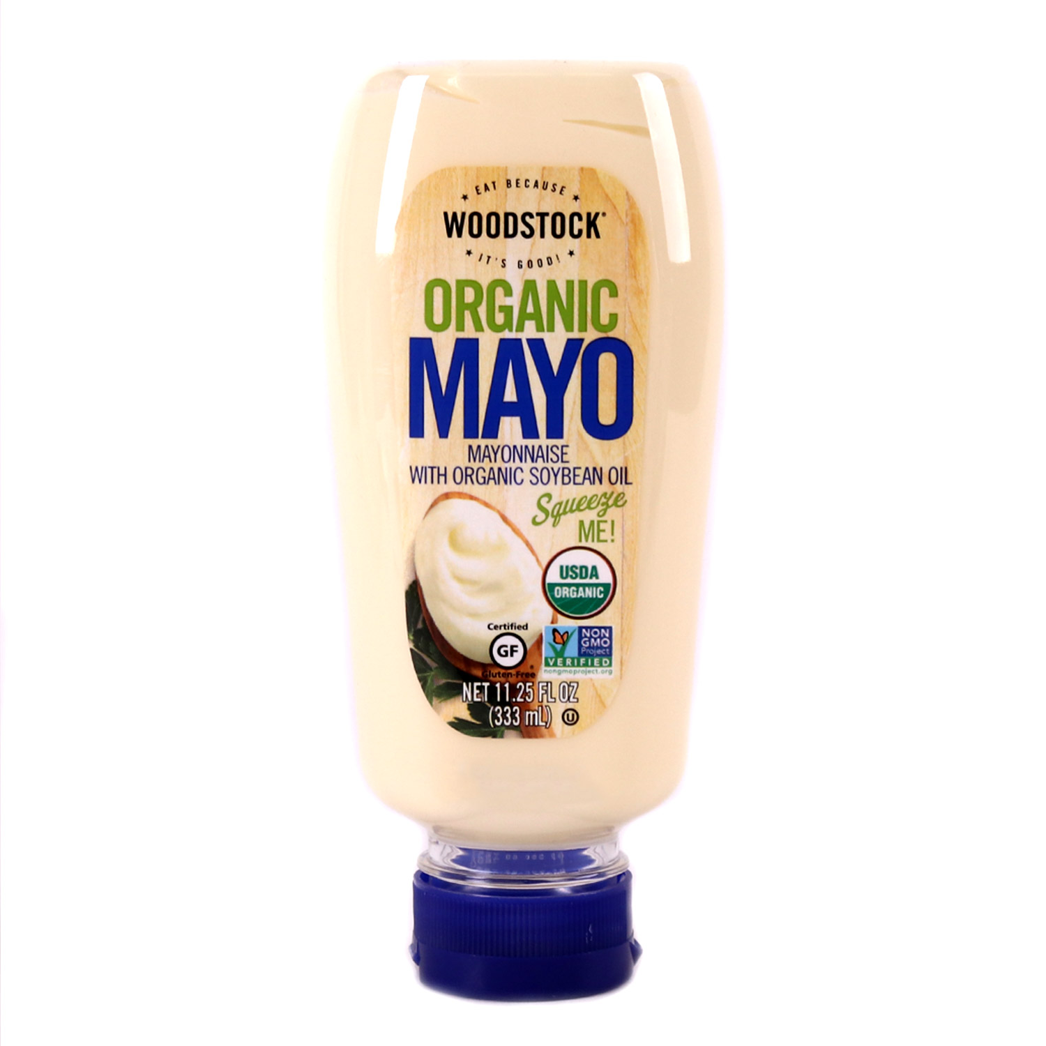 Mayonnaise, Squeezable-Organic