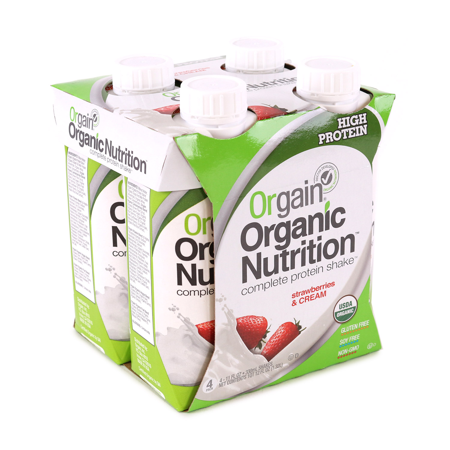 Nutritional Shake, Chocolate Fudge-Organic