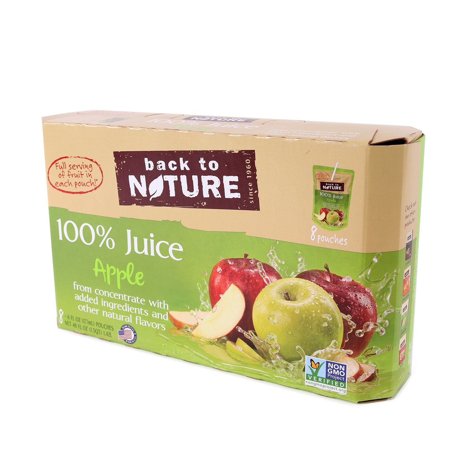 Juice Pouches, Apple