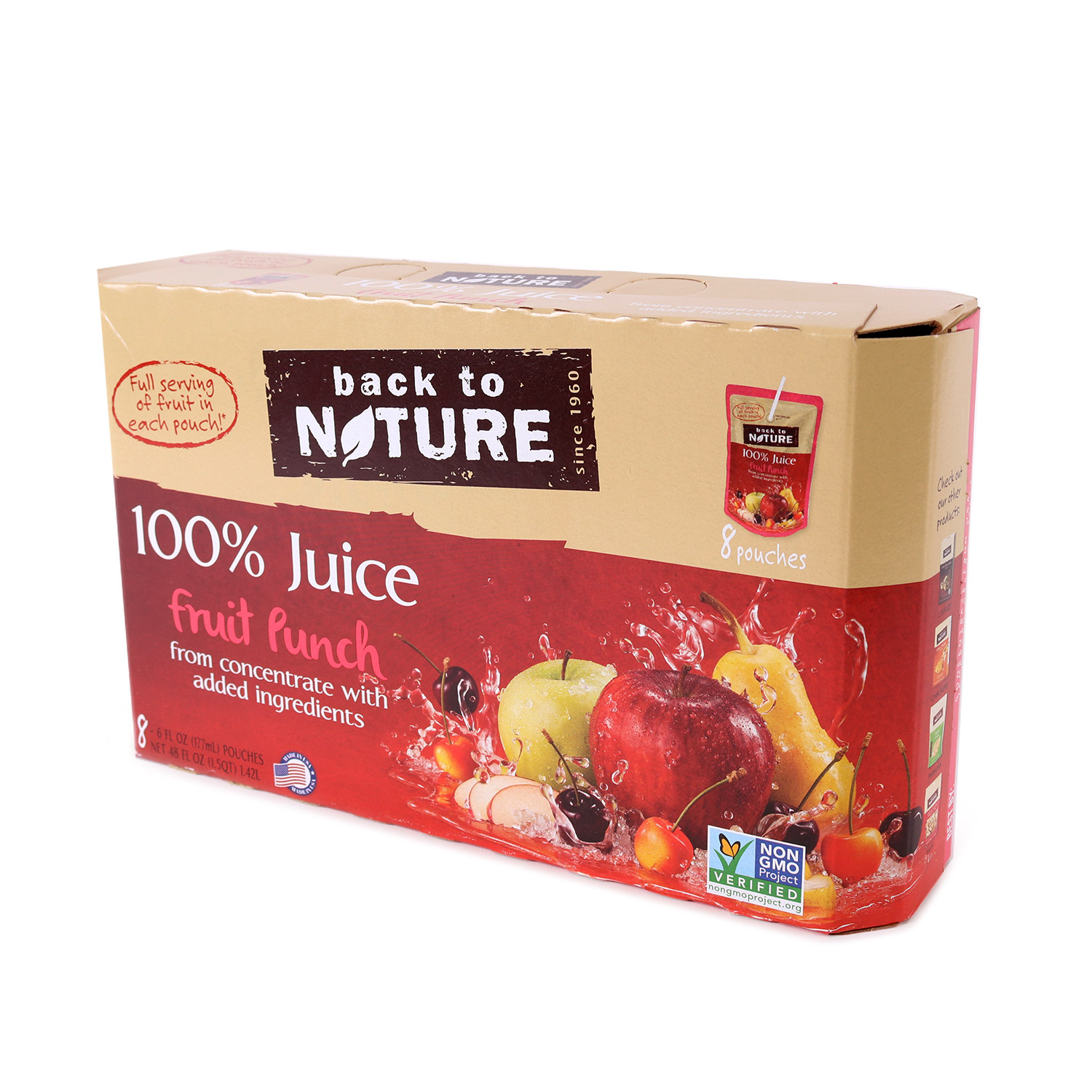 Juice Pouches, Fruit Punch