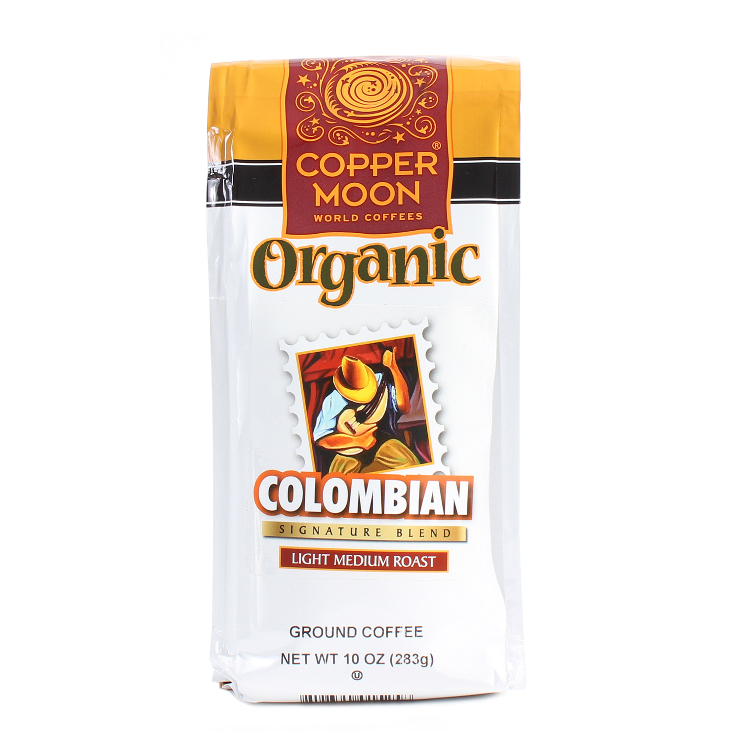 Ground Coffee, Colombian-Organic
