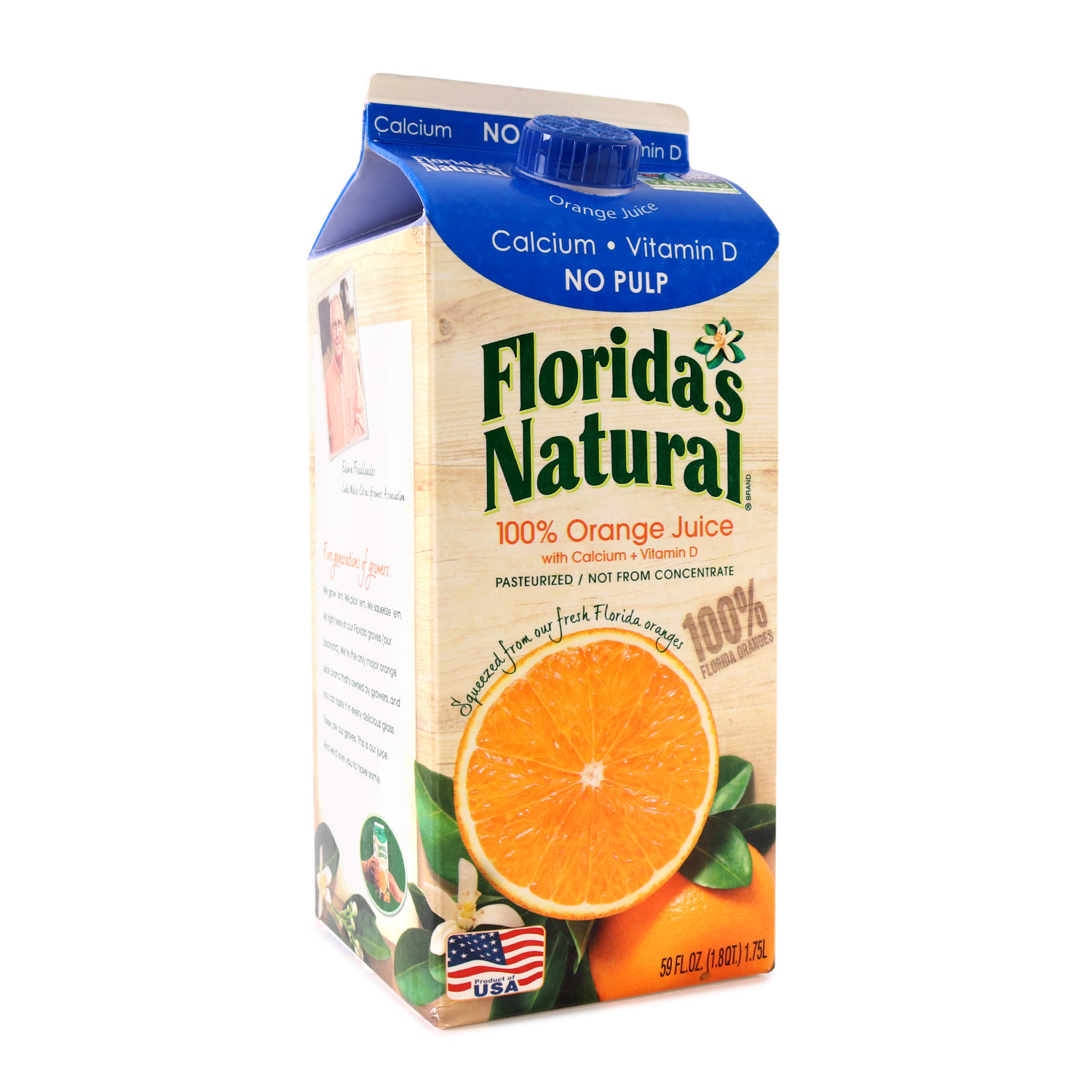 Orange Juice, Pulp Free Calcium