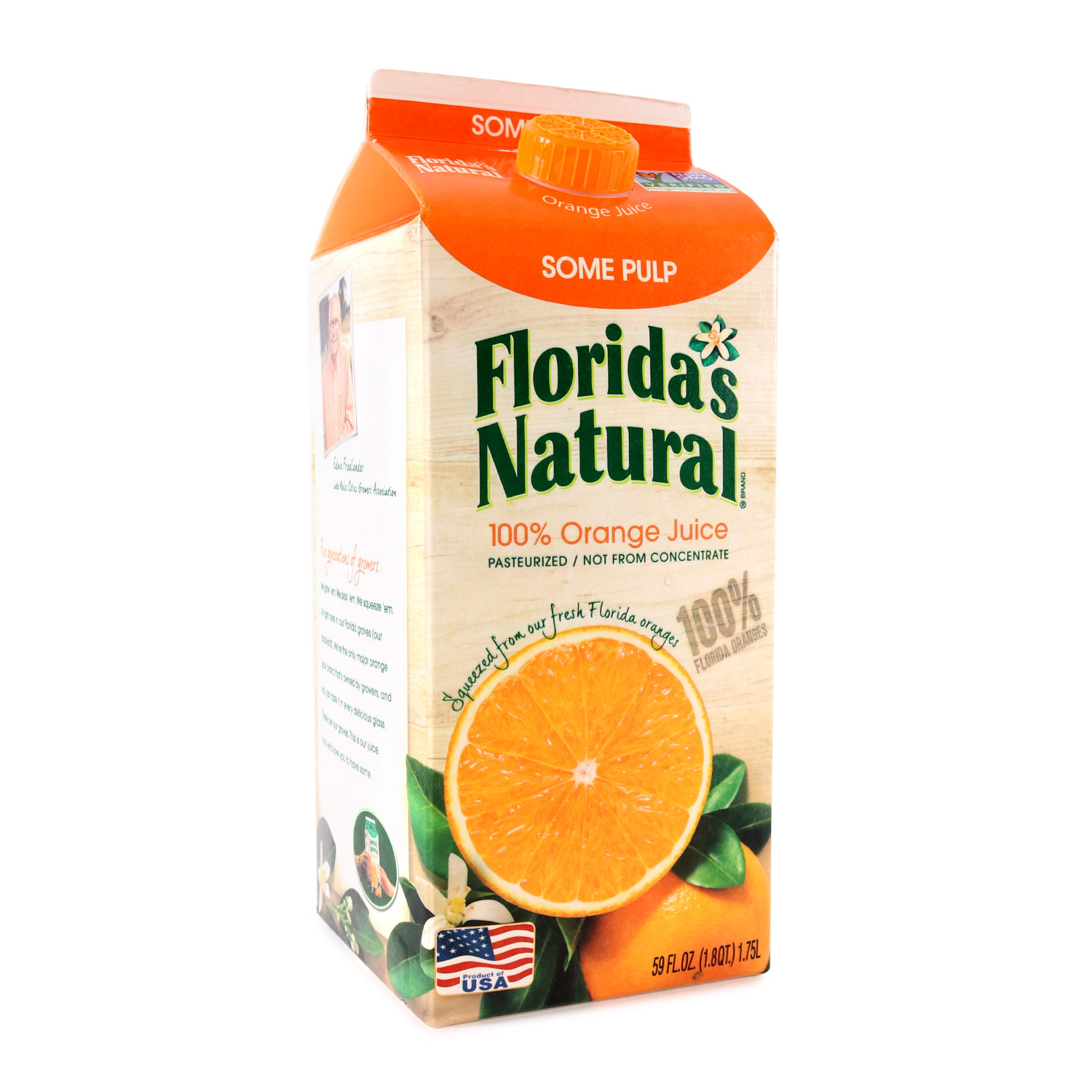 Orange Juice, Home Squeezed Pulp