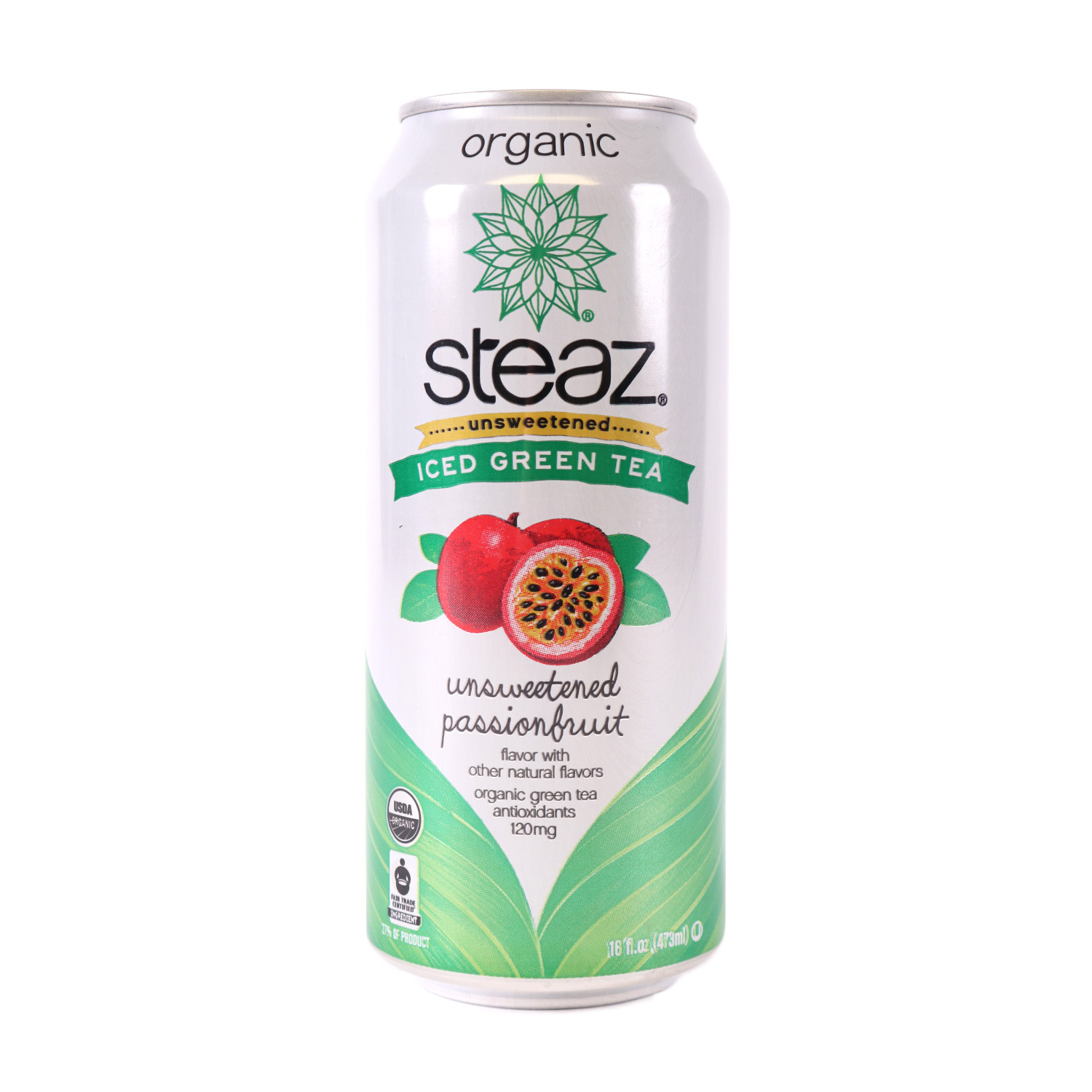 Green Tea, Unsweetened Passionfruit-Organic