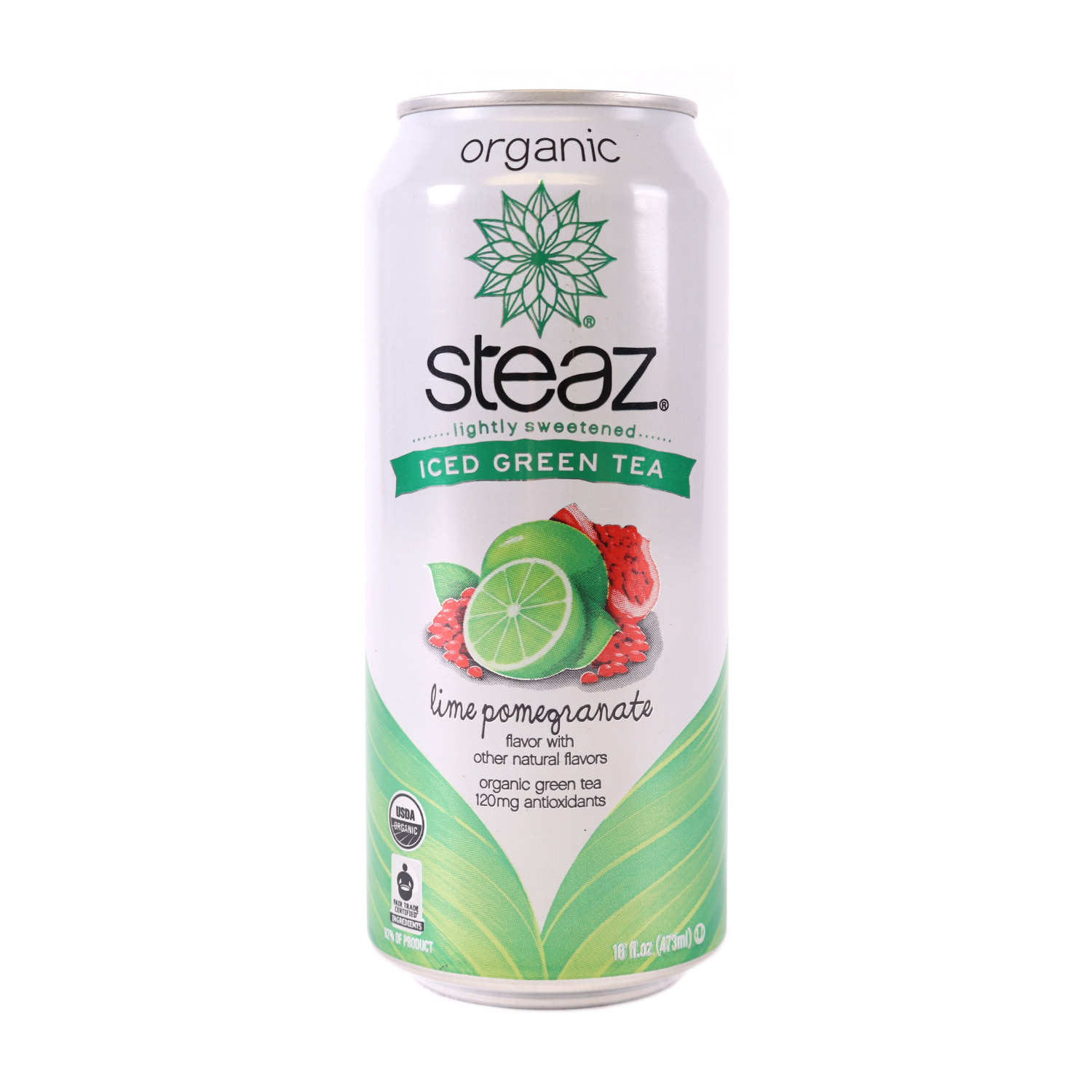 Green Tea, Pomegranate Lime-Organic