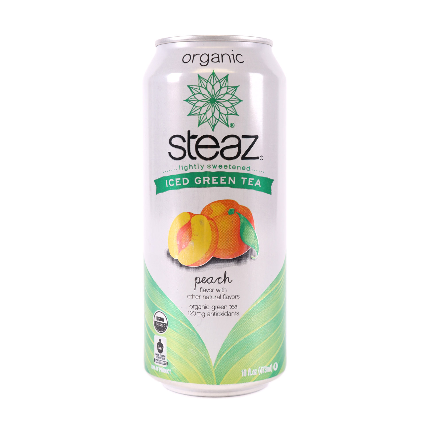 Green Tea, Peach-Organic