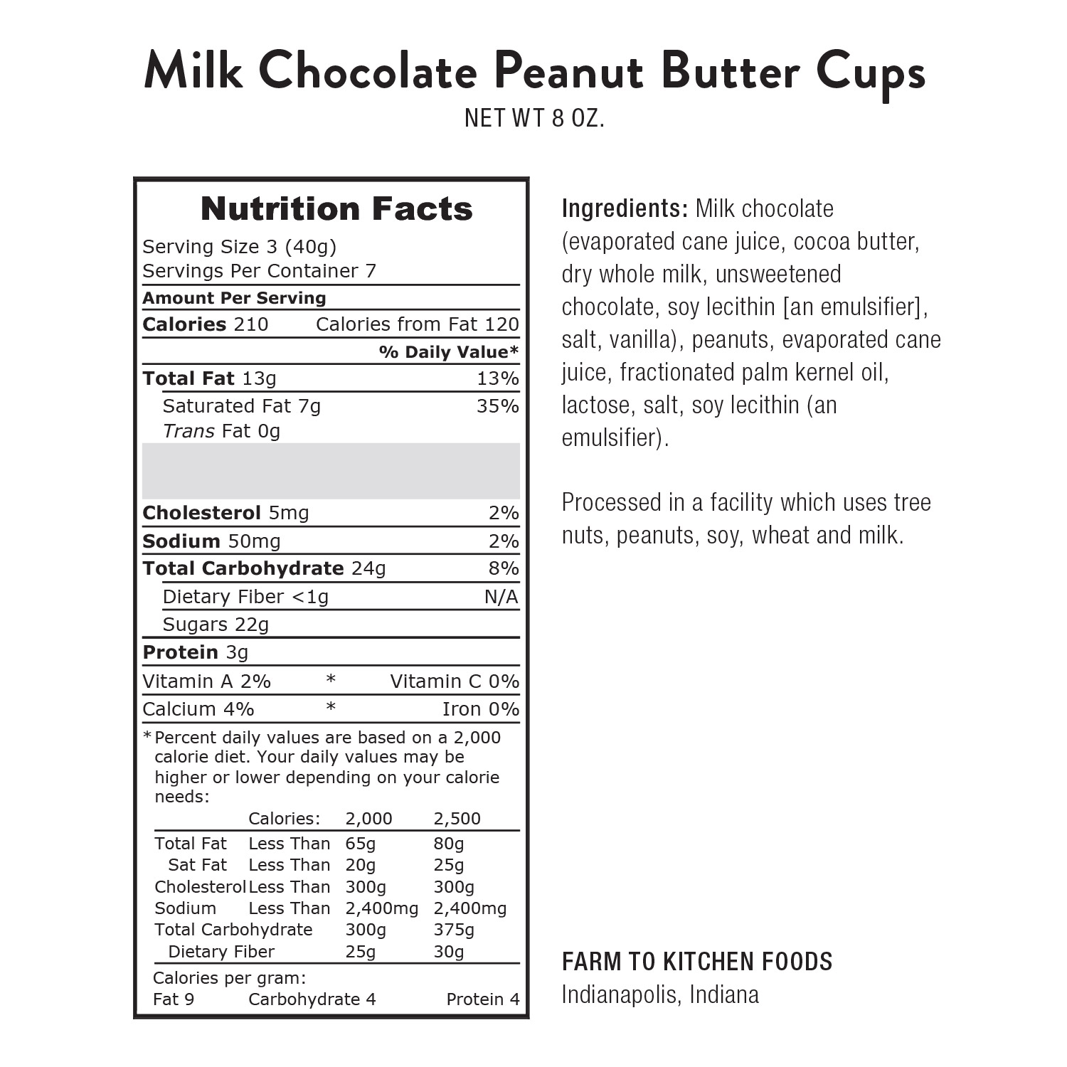 Milk Chocolate Peanut Butter Cups