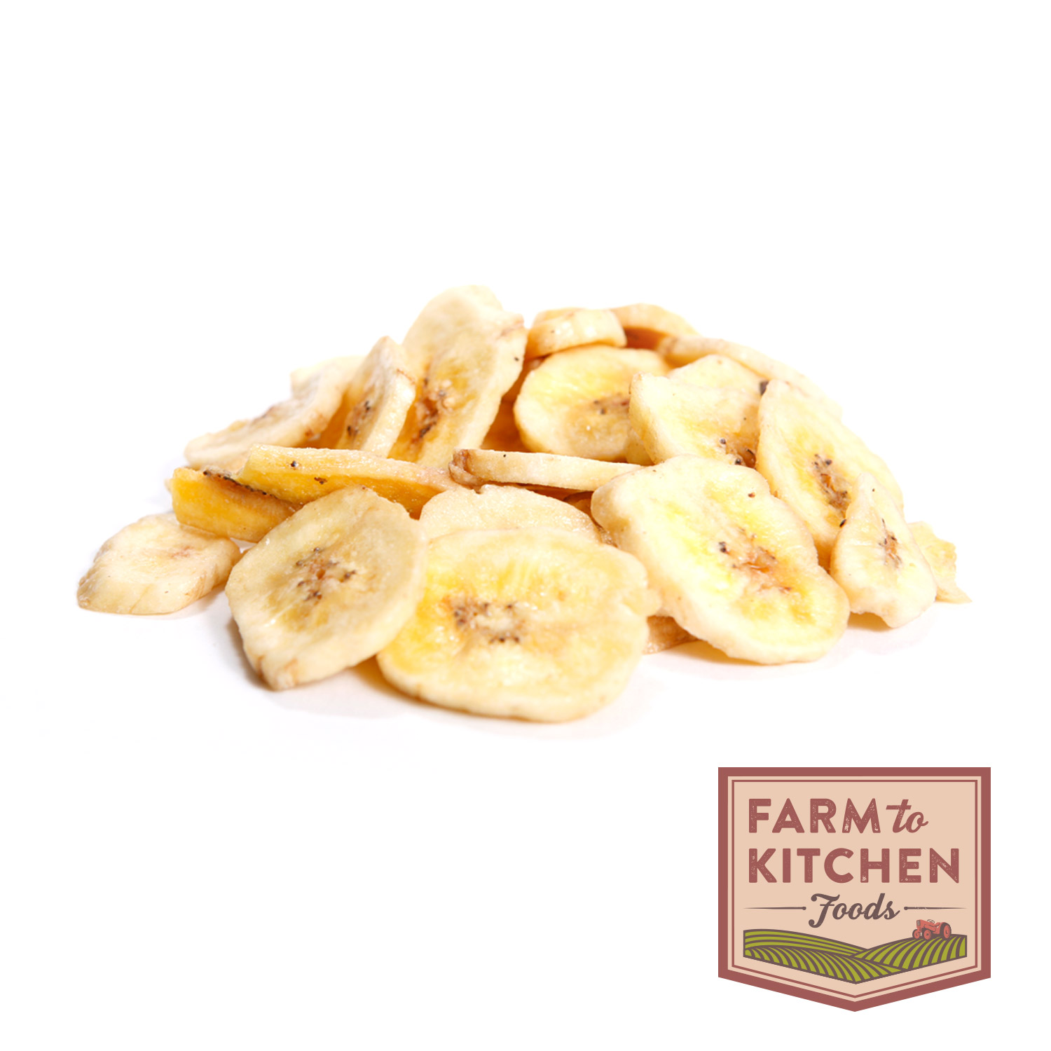 Banana Chips, Dried-Organic