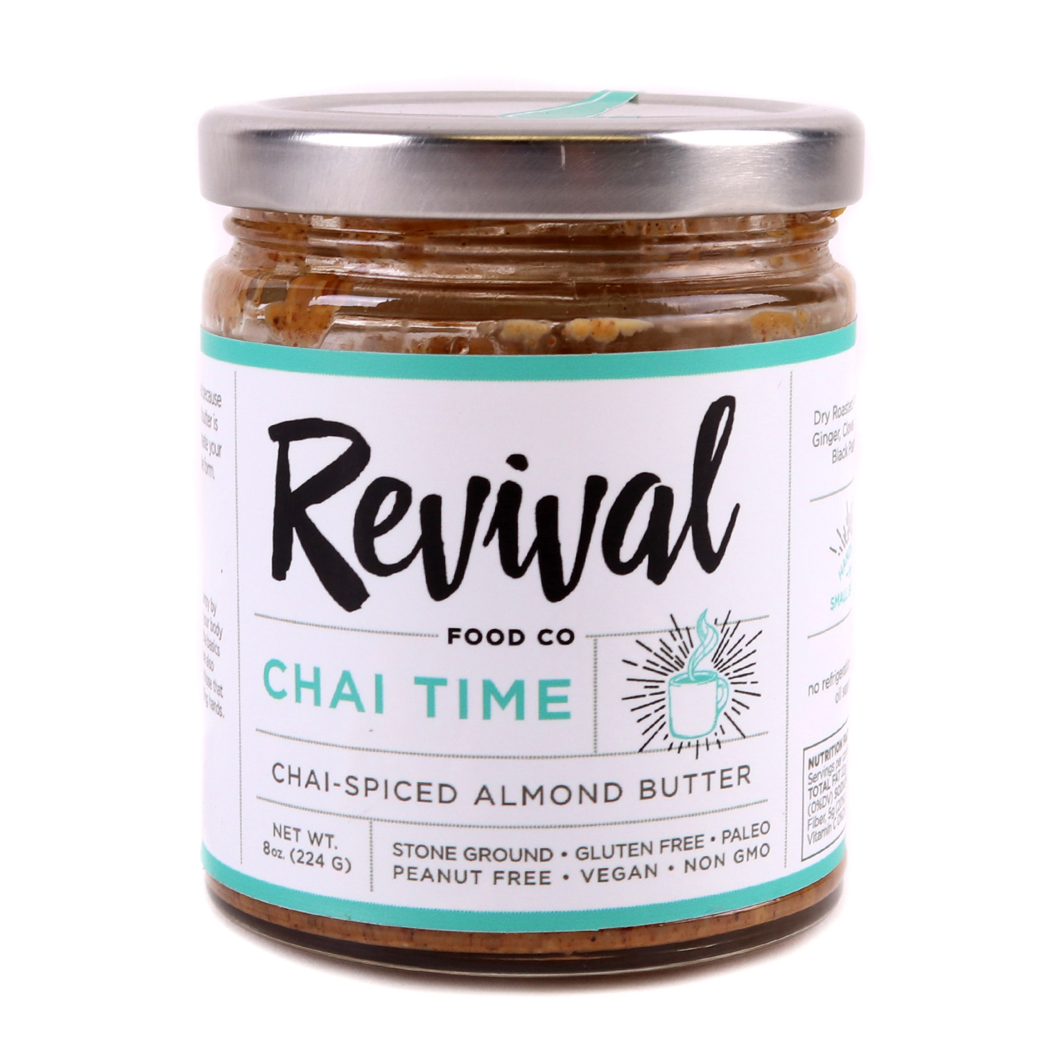 Almond Butter, Chai Time