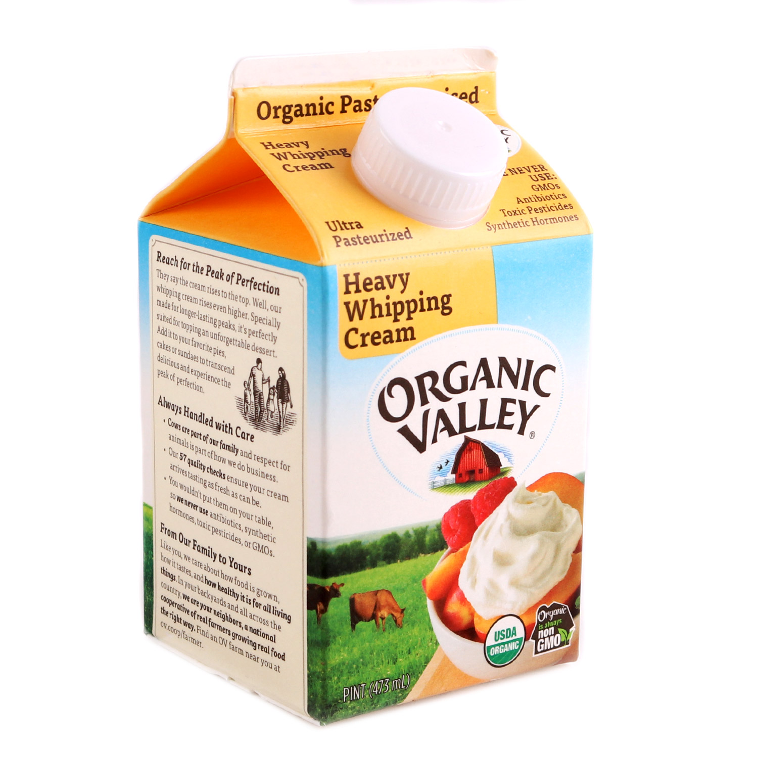 Cream, Heavy Whipping-Organic