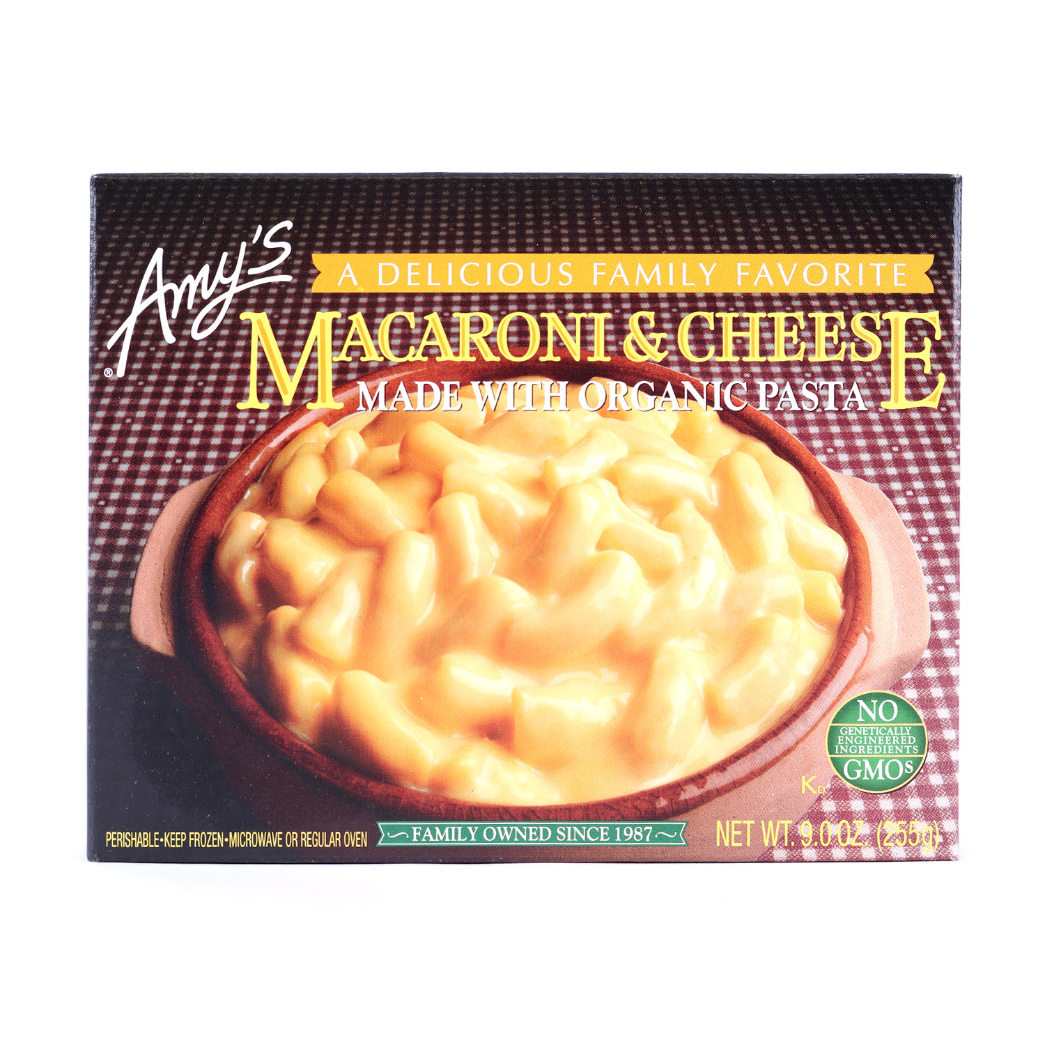 Meal, Macaroni & Cheese-Organic