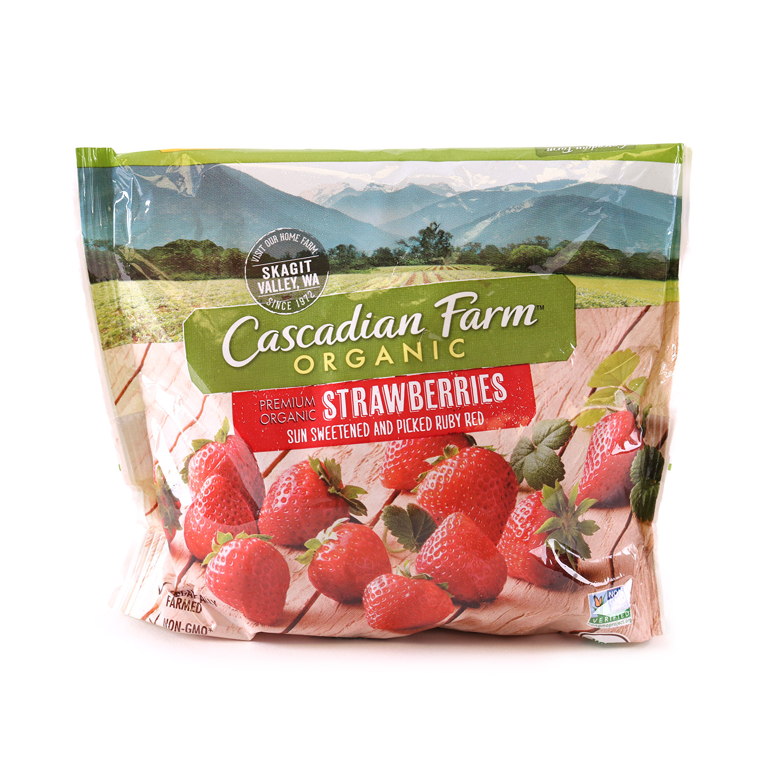 Frozen Berries, Strawberries-Small-Organic