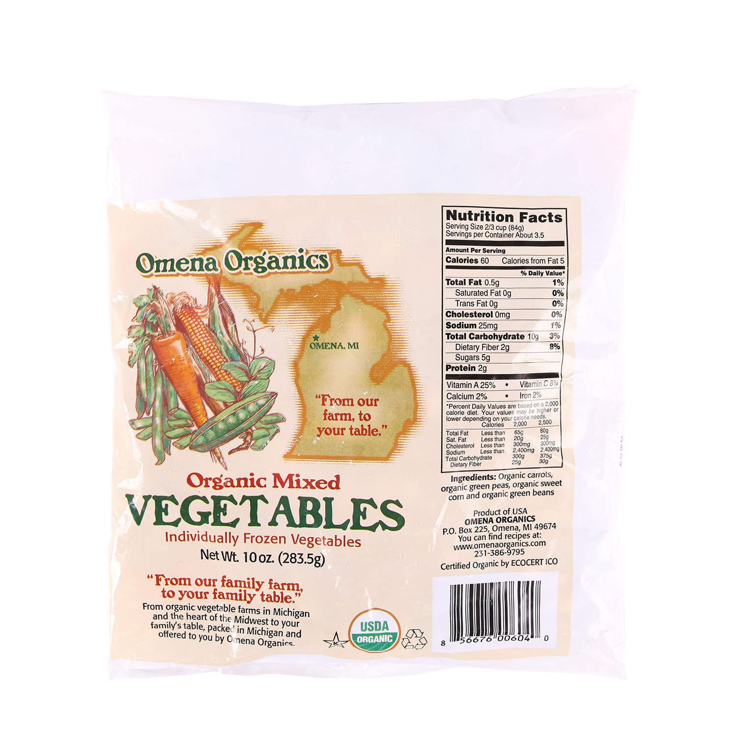 Mixed Vegetables-Organic