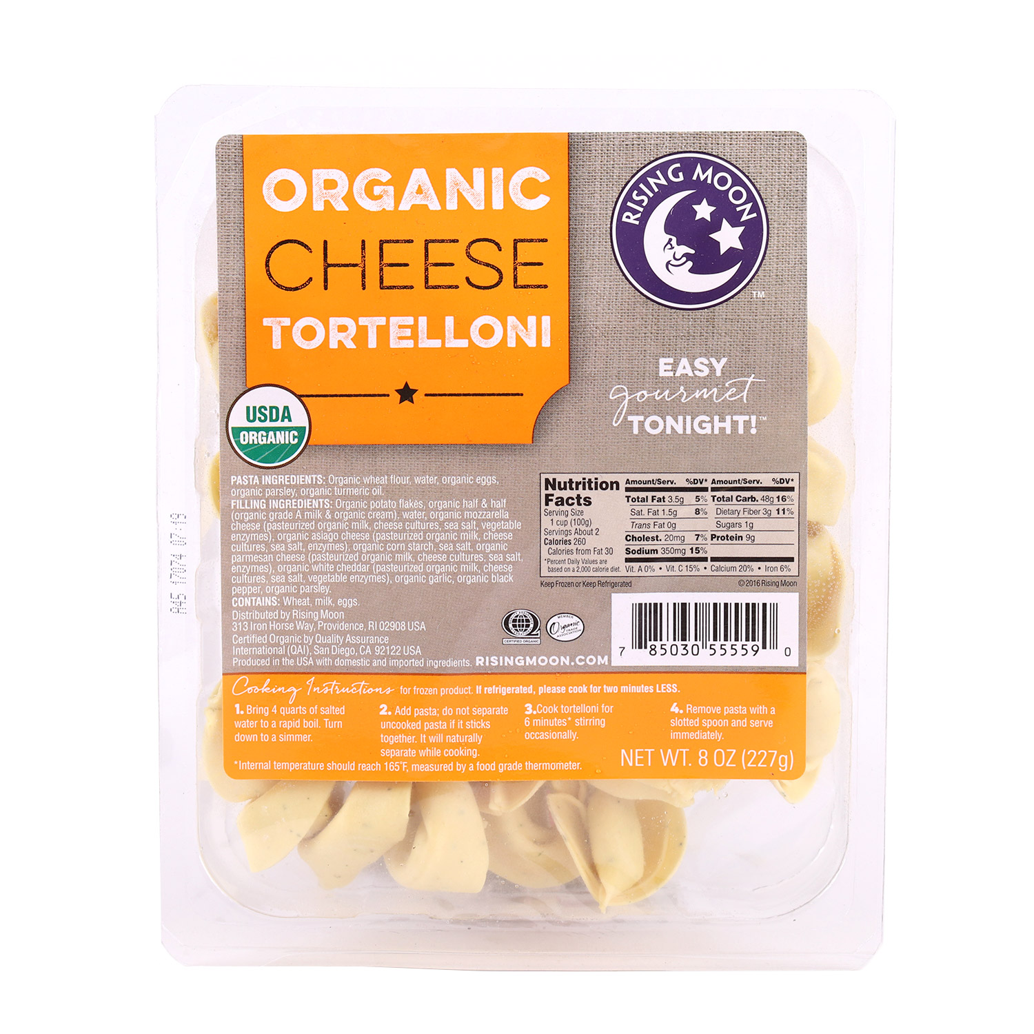 Tortelloni, Four Cheese-Organic