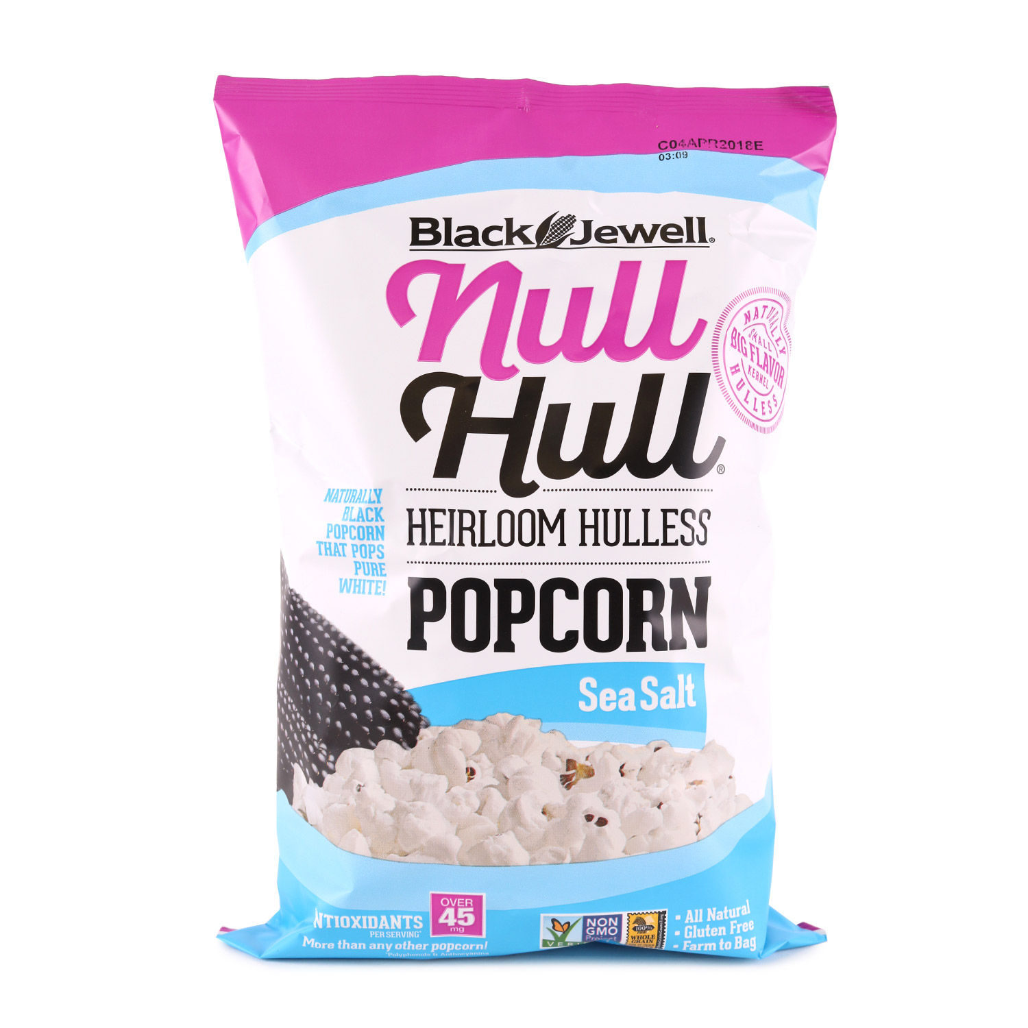 Null Hull Popcorn, Sea Salt