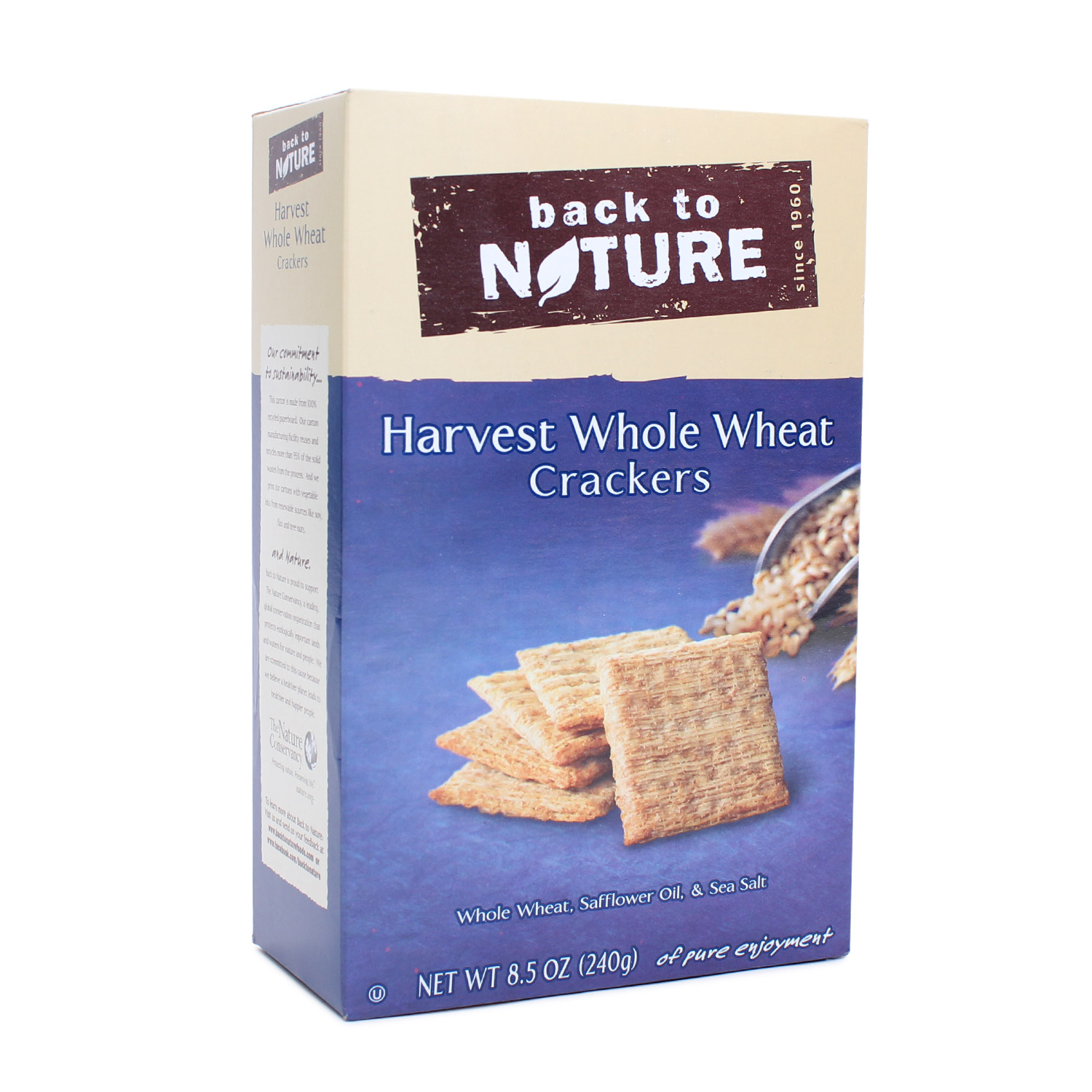 Crackers, Harvest Whole Wheat