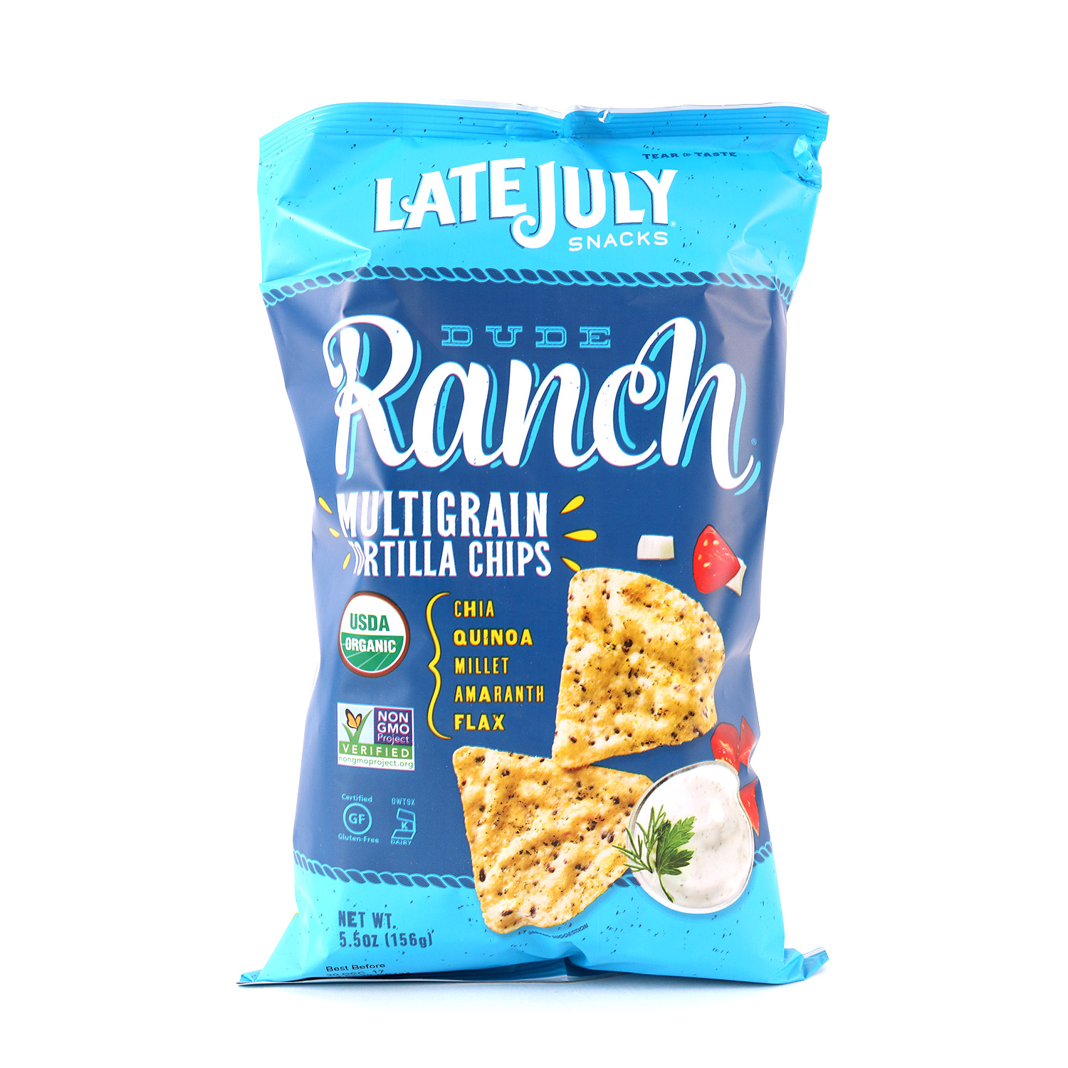 Multigrain Chips, Dude Ranch-Organic