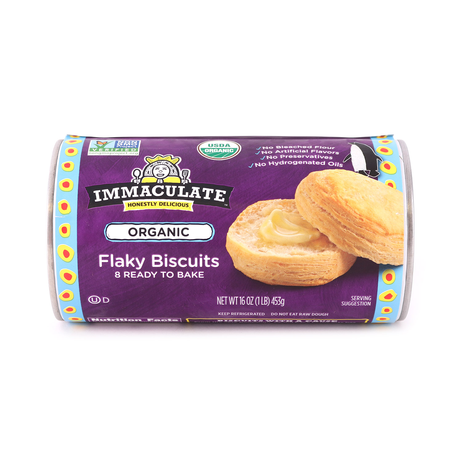Biscuits, Flaky-Organic