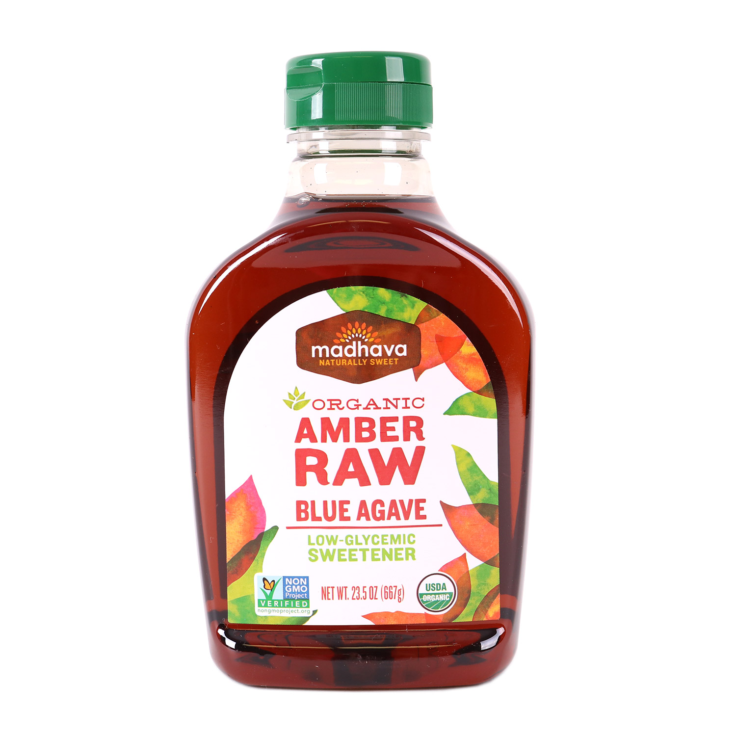 Agave Nectar, Amber-Organic