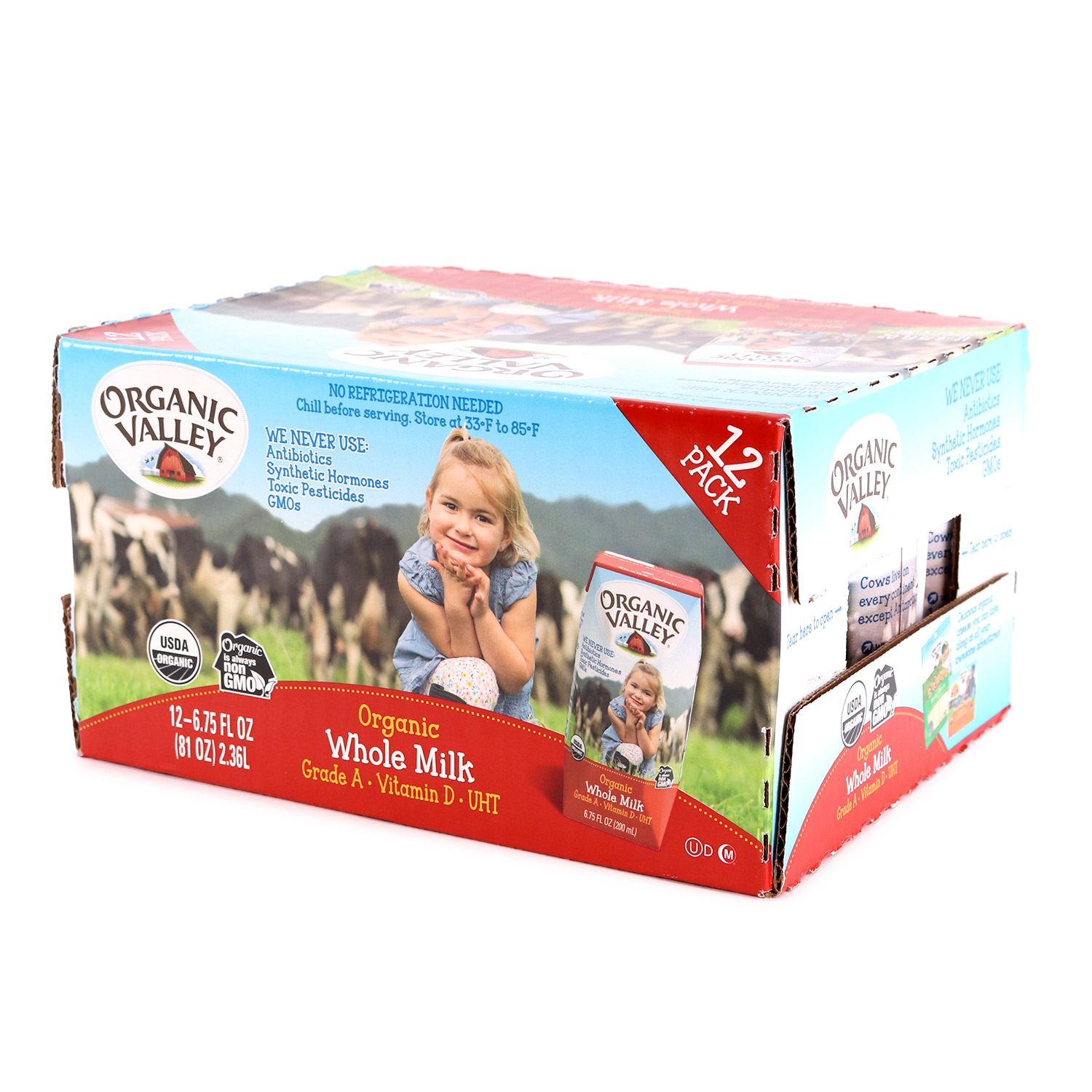 Milk, Kid's  Whole-Organic (Case)