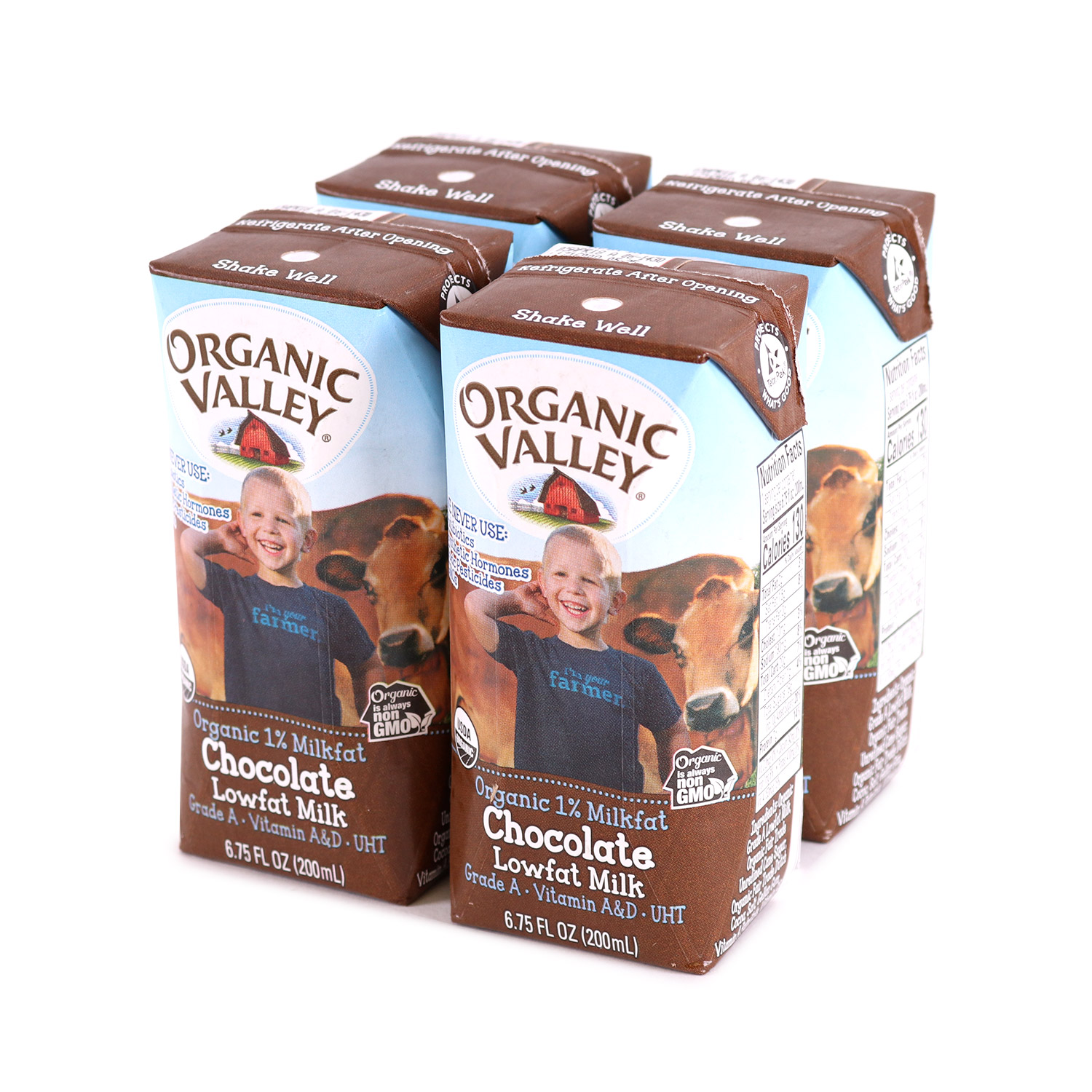 Milk, Kid's 4pk Chocolate-Organic