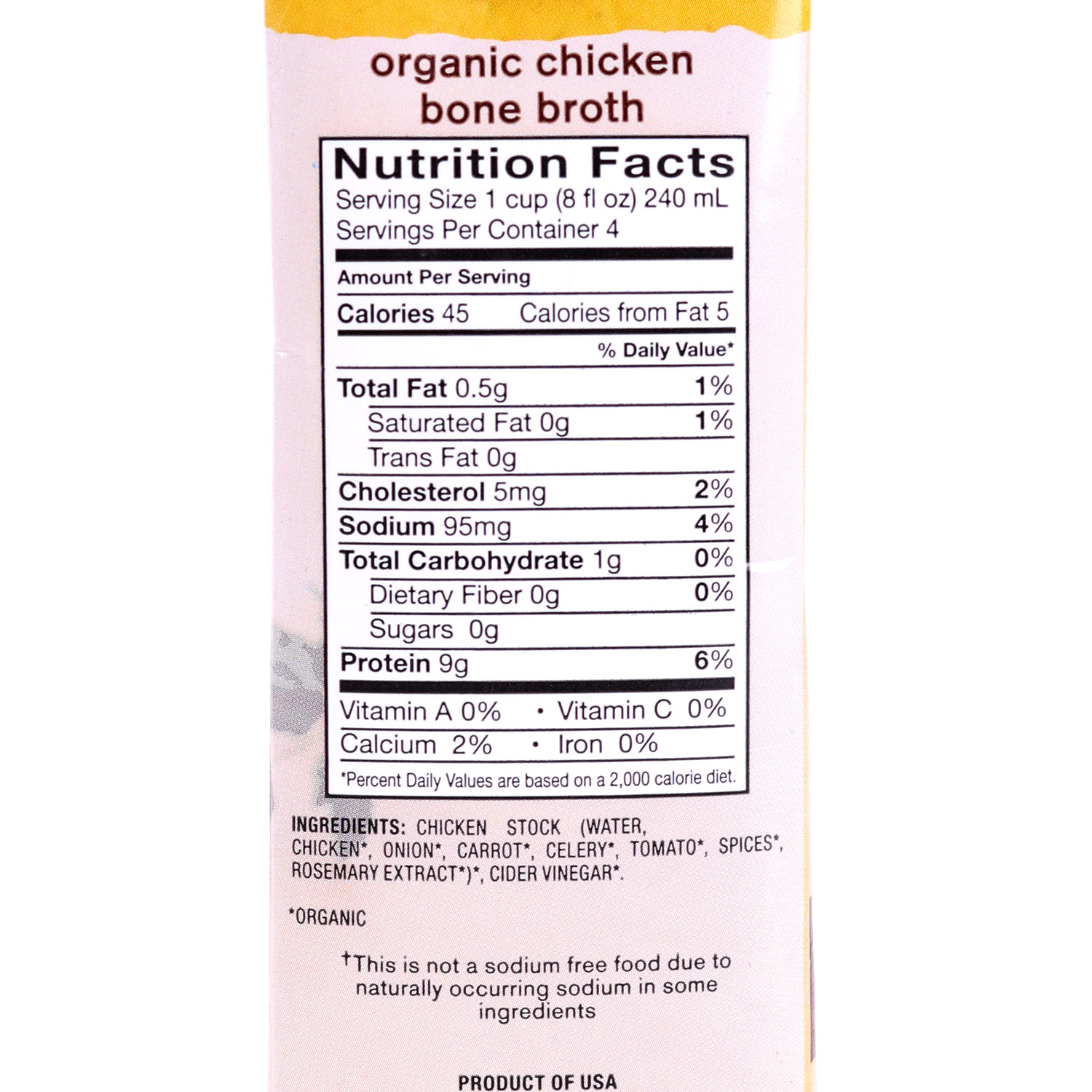 Bone Broth, Chicken-Organic