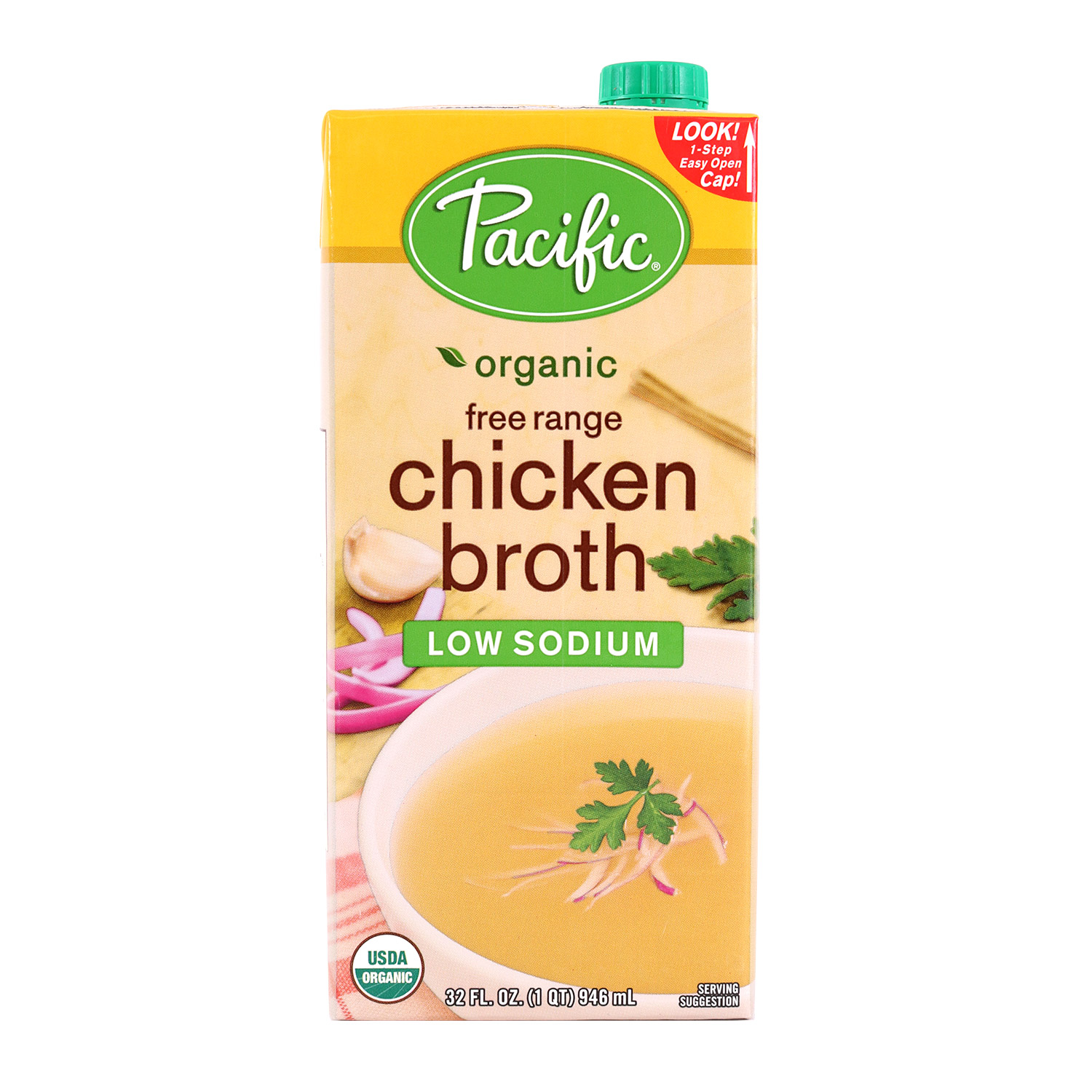 Broth, Chicken Low Sodium-Organic