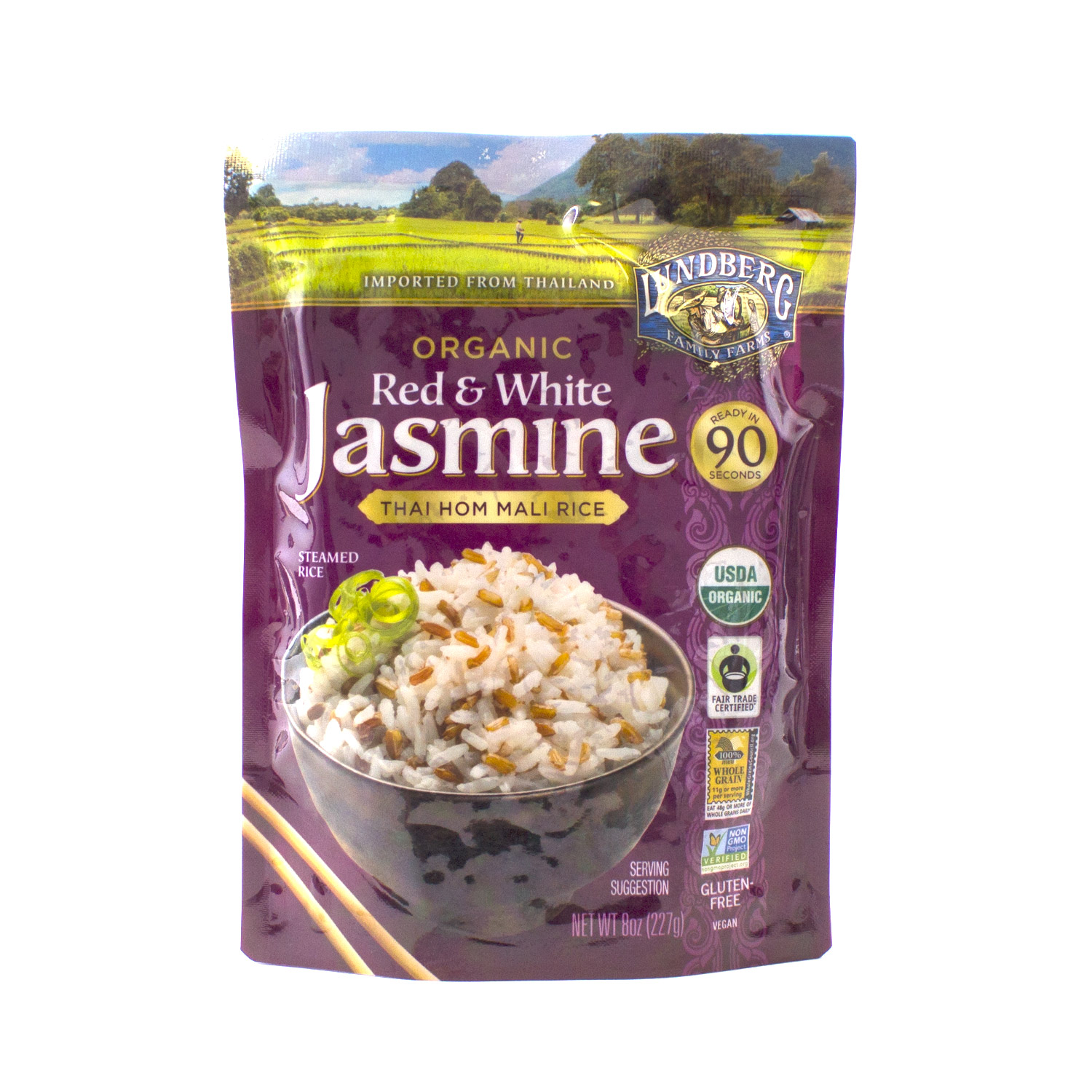 90 Second Rice, Red & White Jasmine-Organic