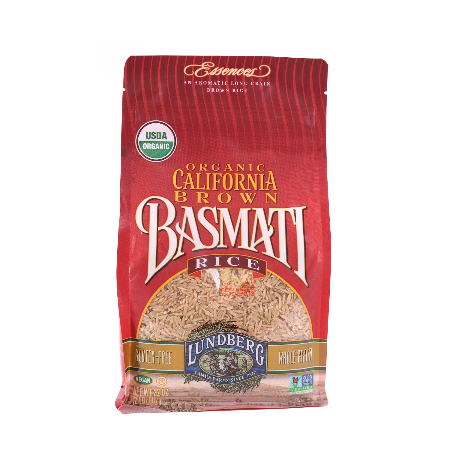 Rice, Brown Basmati Rice-Organic