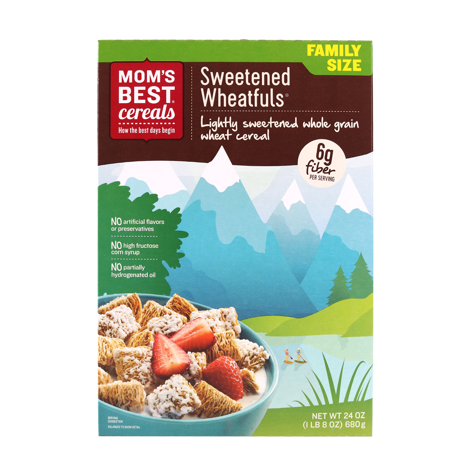 Cereal, Sweetened Wheat-Fuls