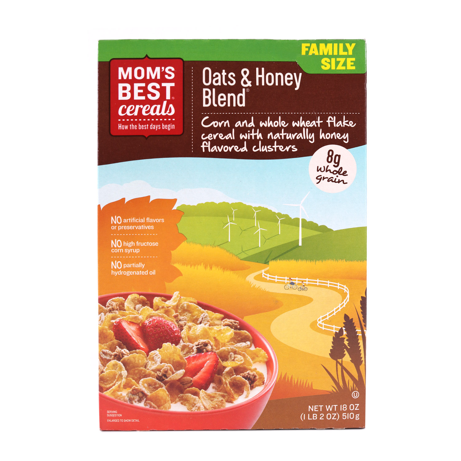 Cereal, Oats & Honey Blend
