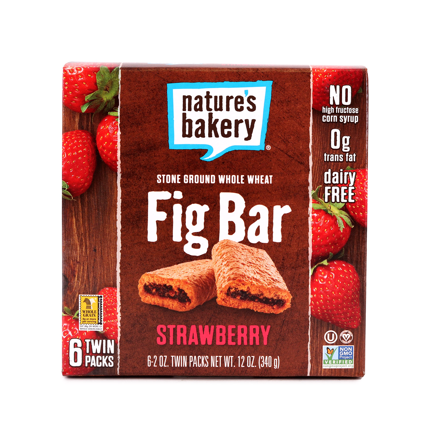 Fig Bar, Whole Wheat Strawberry