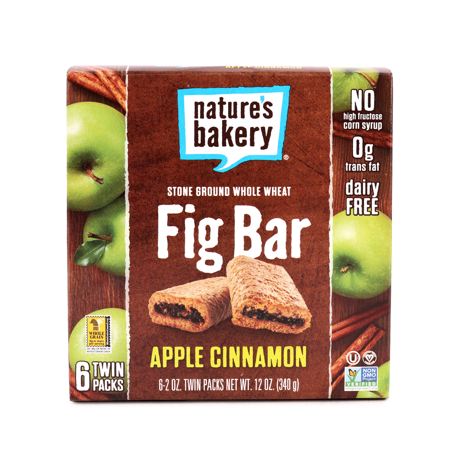 Fig Bar, Whole Wheat Apple Cinnamon