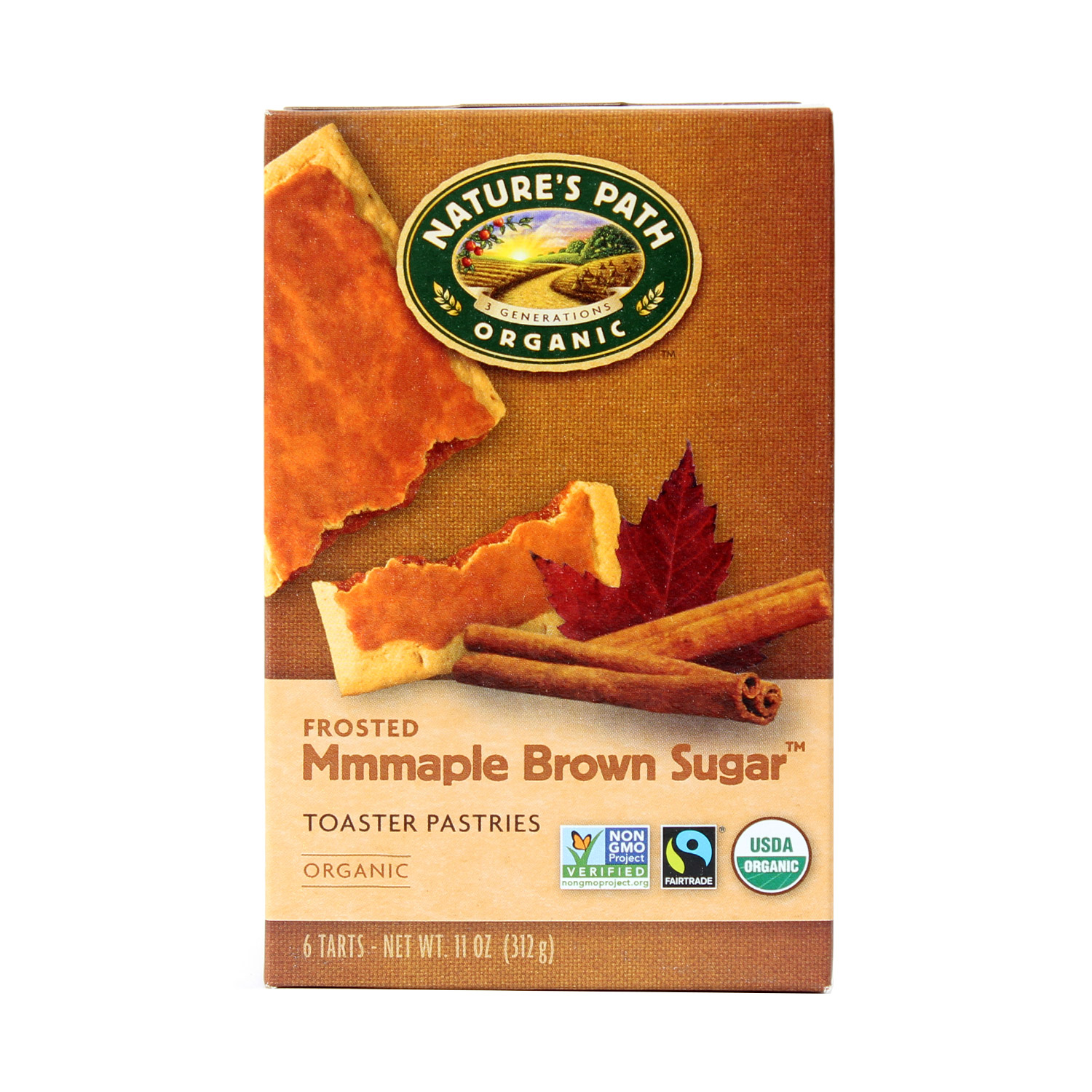Toaster Pastry, Maple-Organic