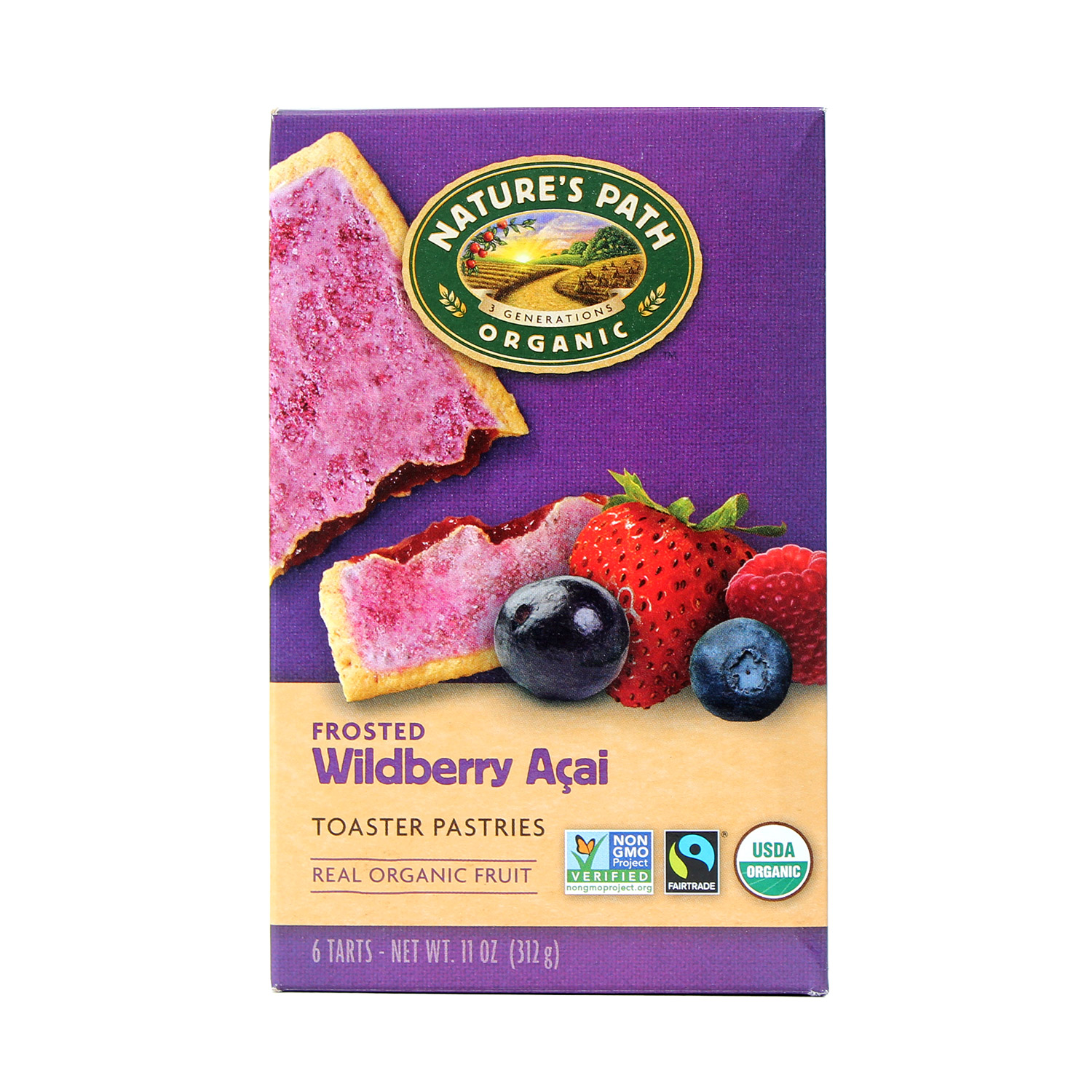 Toaster Pastry, Wildberry-Organic