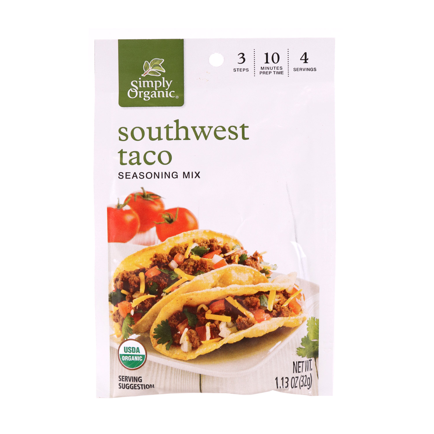 Seasoning, Southwest Taco-Organic