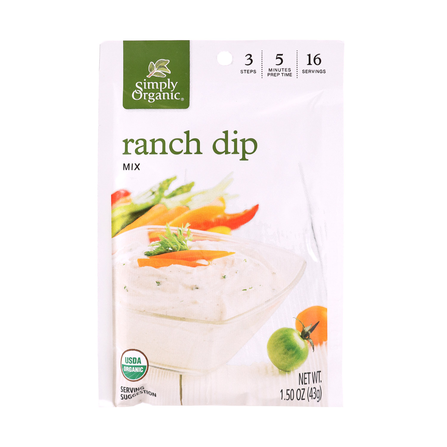 Dip Mix, Ranch-Organic