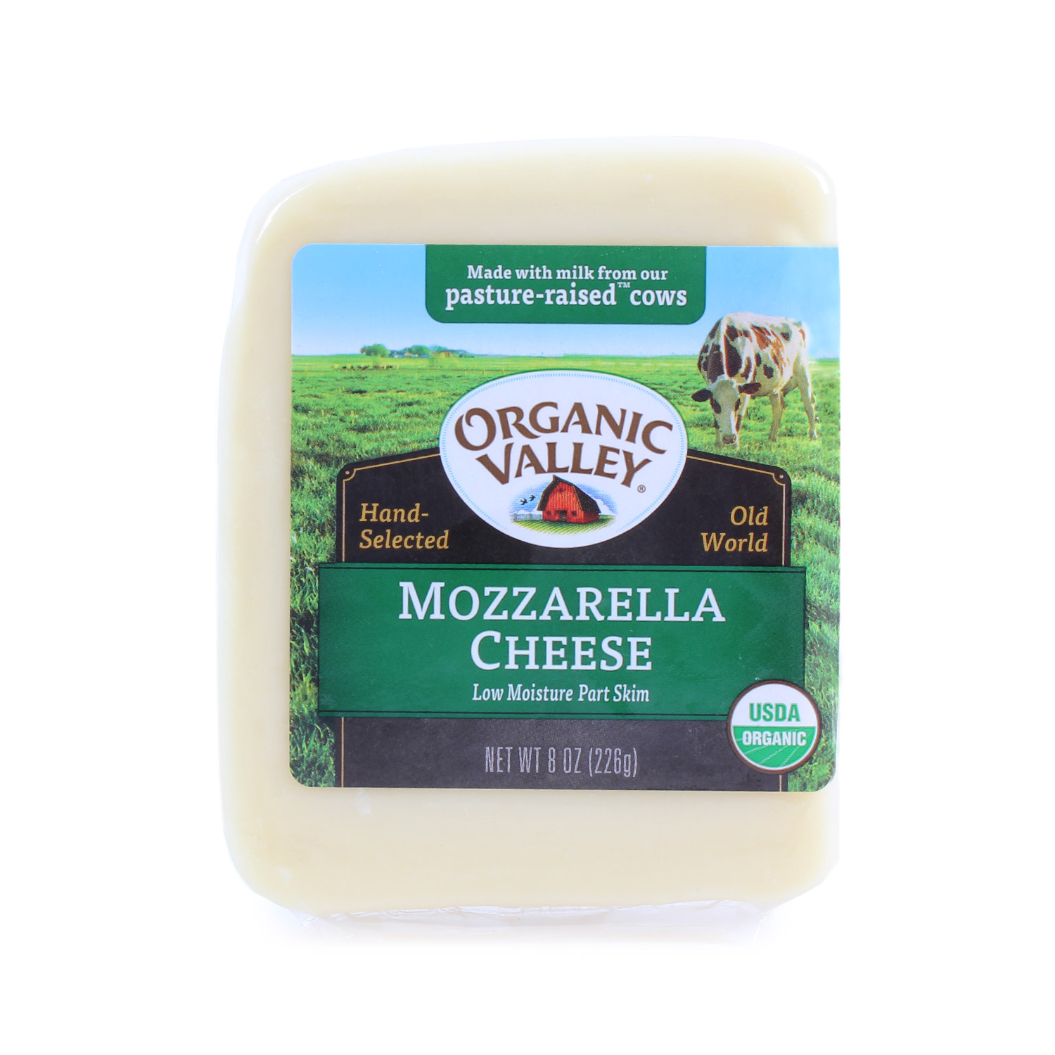 Cheese Block, Mozzarella-Organic