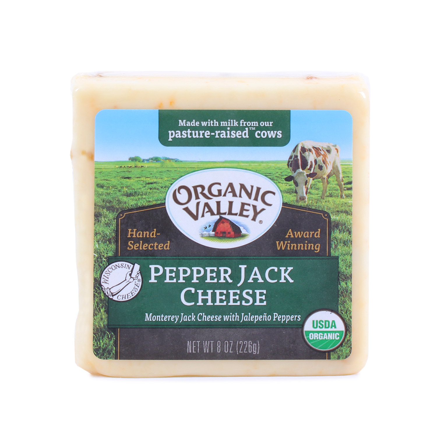 Cheese Block, Pepper Jack-Organic