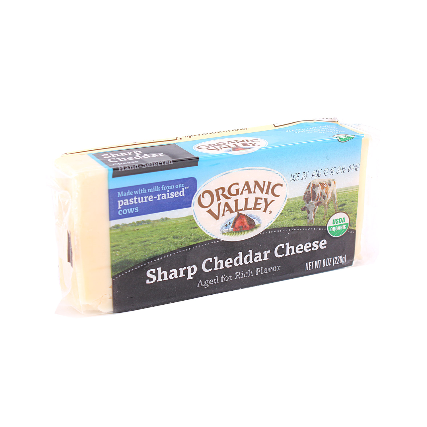 Cheese, Sharp Cheddar-Organic