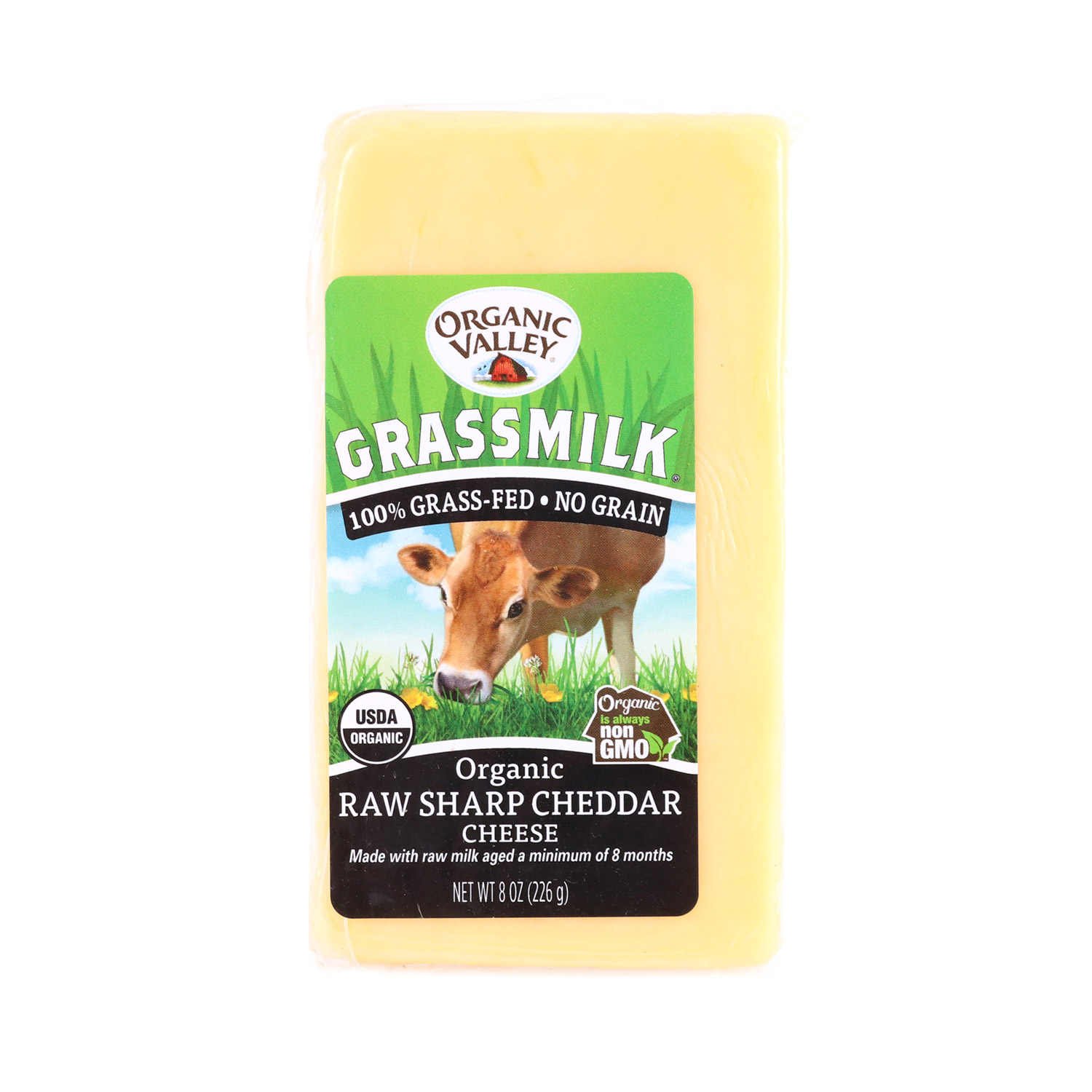Grass Fed, Sharp Cheddar-Organic