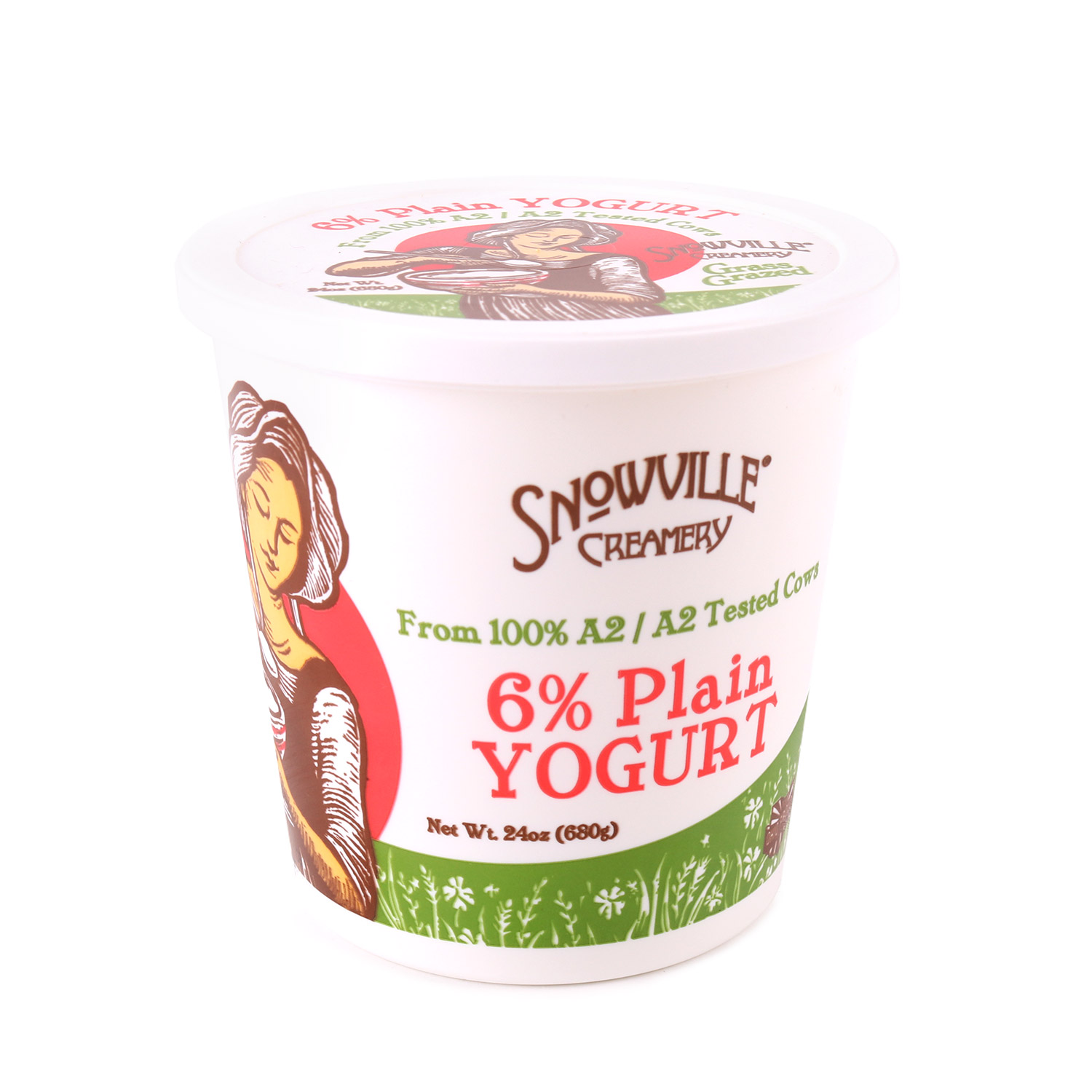 Yogurt, Plain 6%