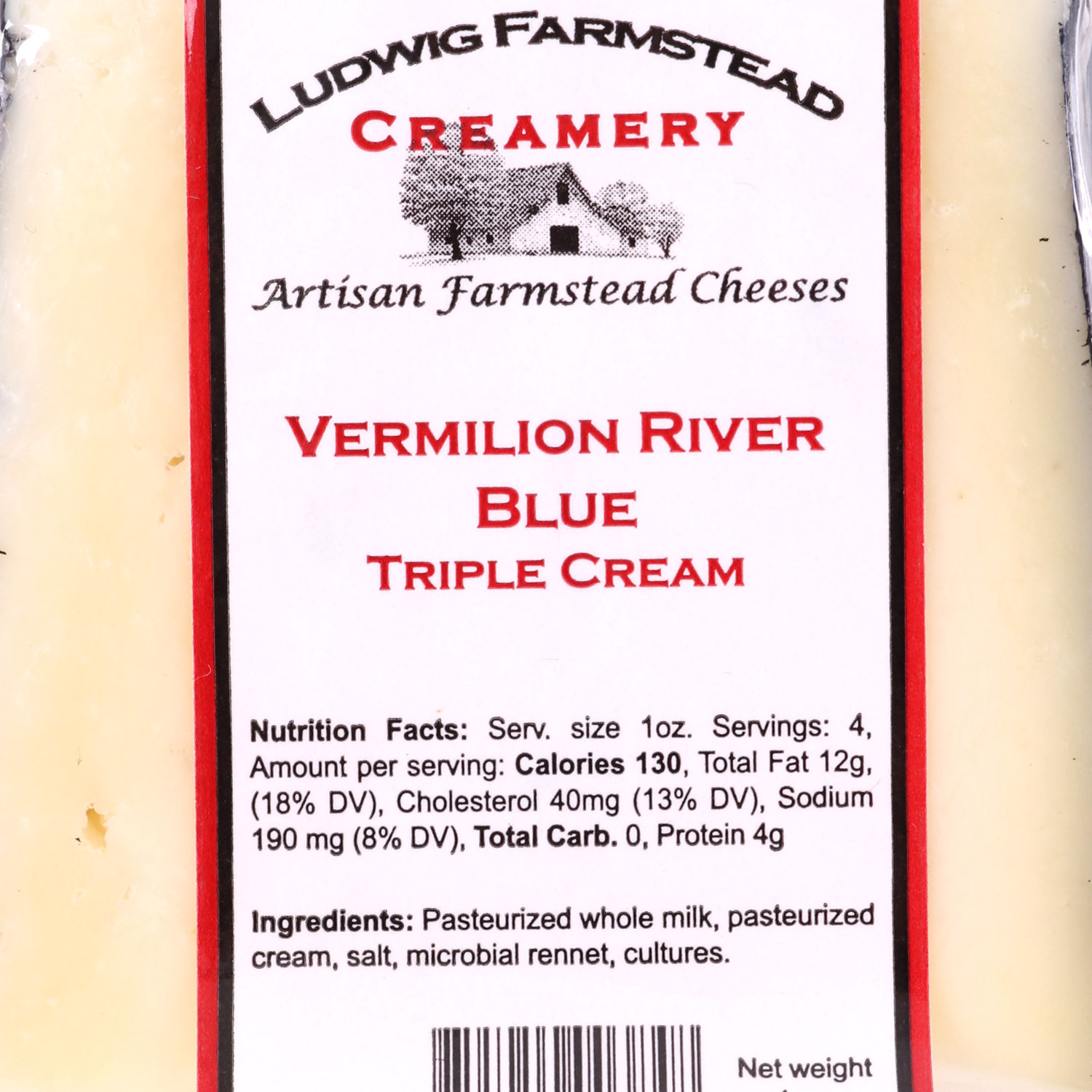 Cheese, Vermillion River Blue
