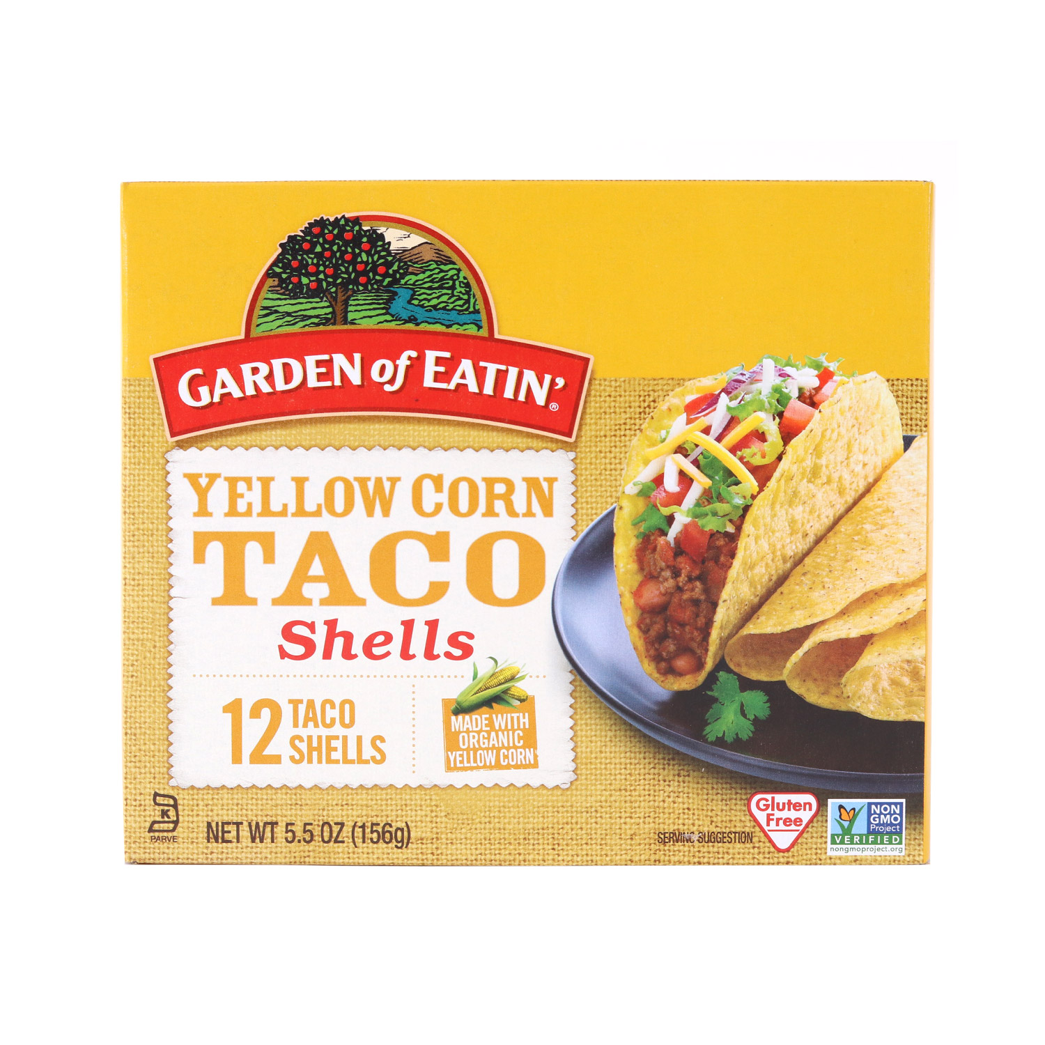 Taco Shells, Yellow Corn